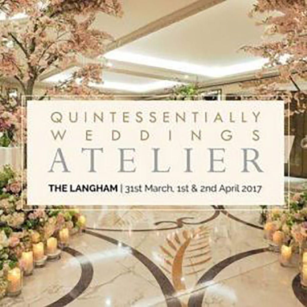 quintessentially weddings atelier