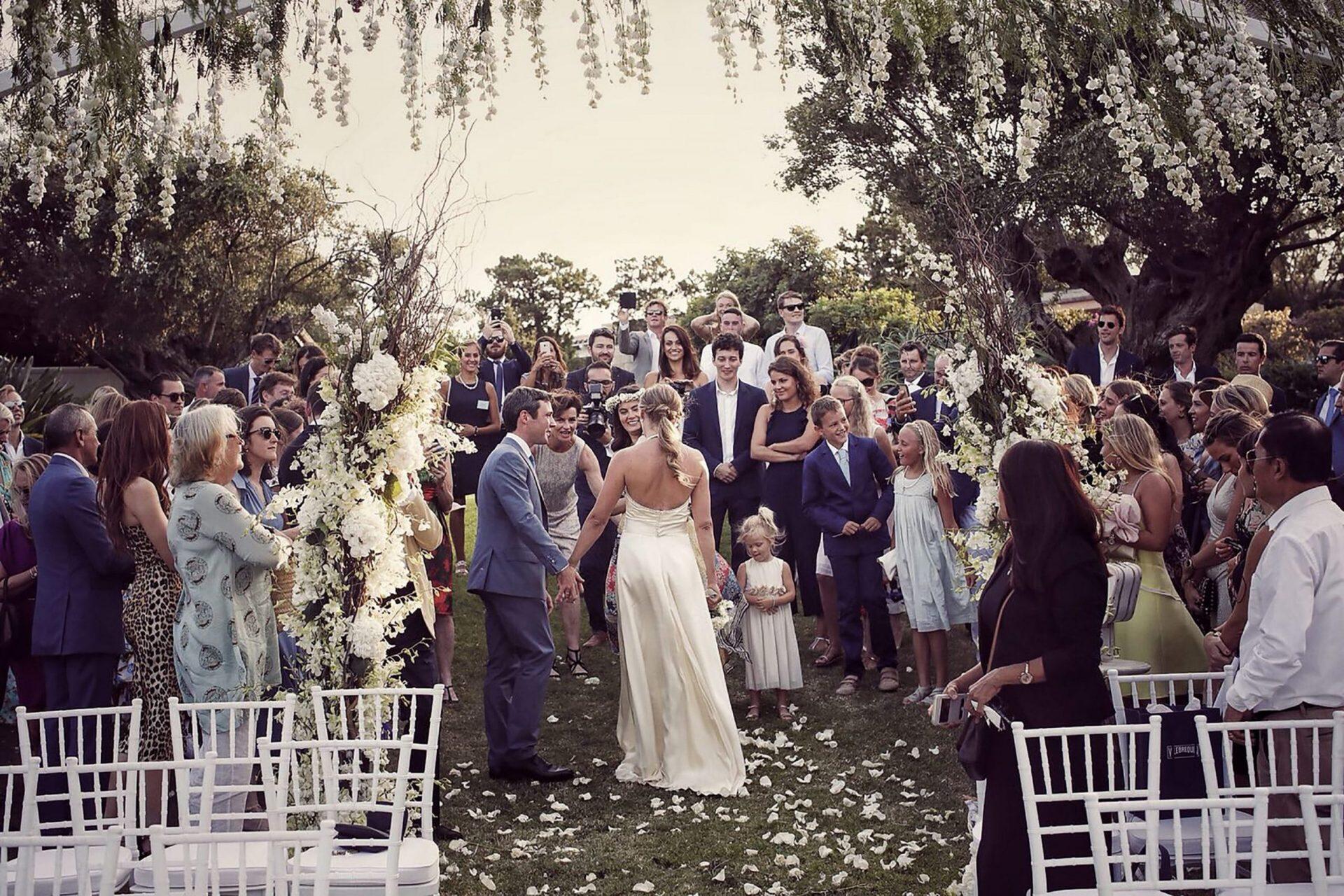 Charlotte and Mark, wedding in Porto Cervo, ceremony