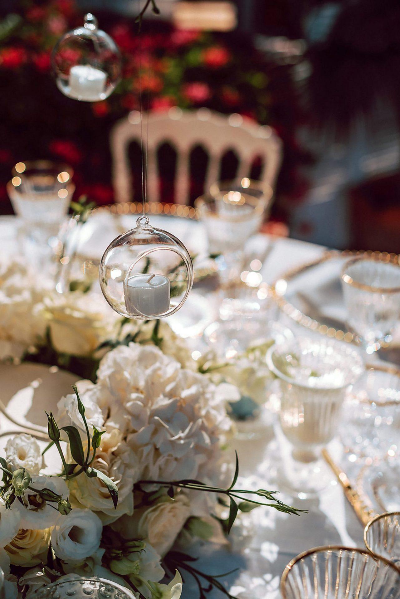 Charlotte and Mark, wedding in Porto Cervo, table decor