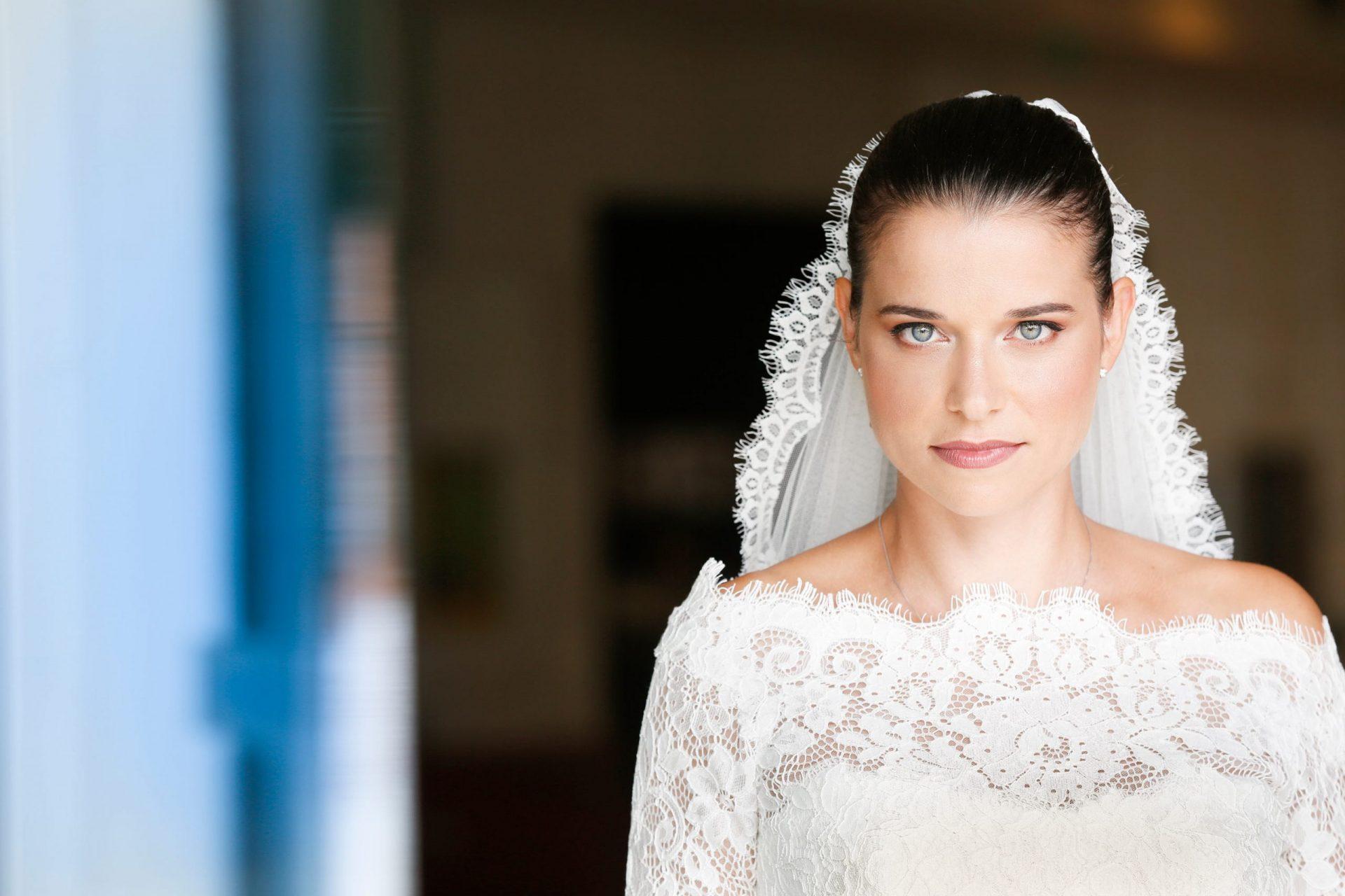 Gloria and Giovanni, the bride