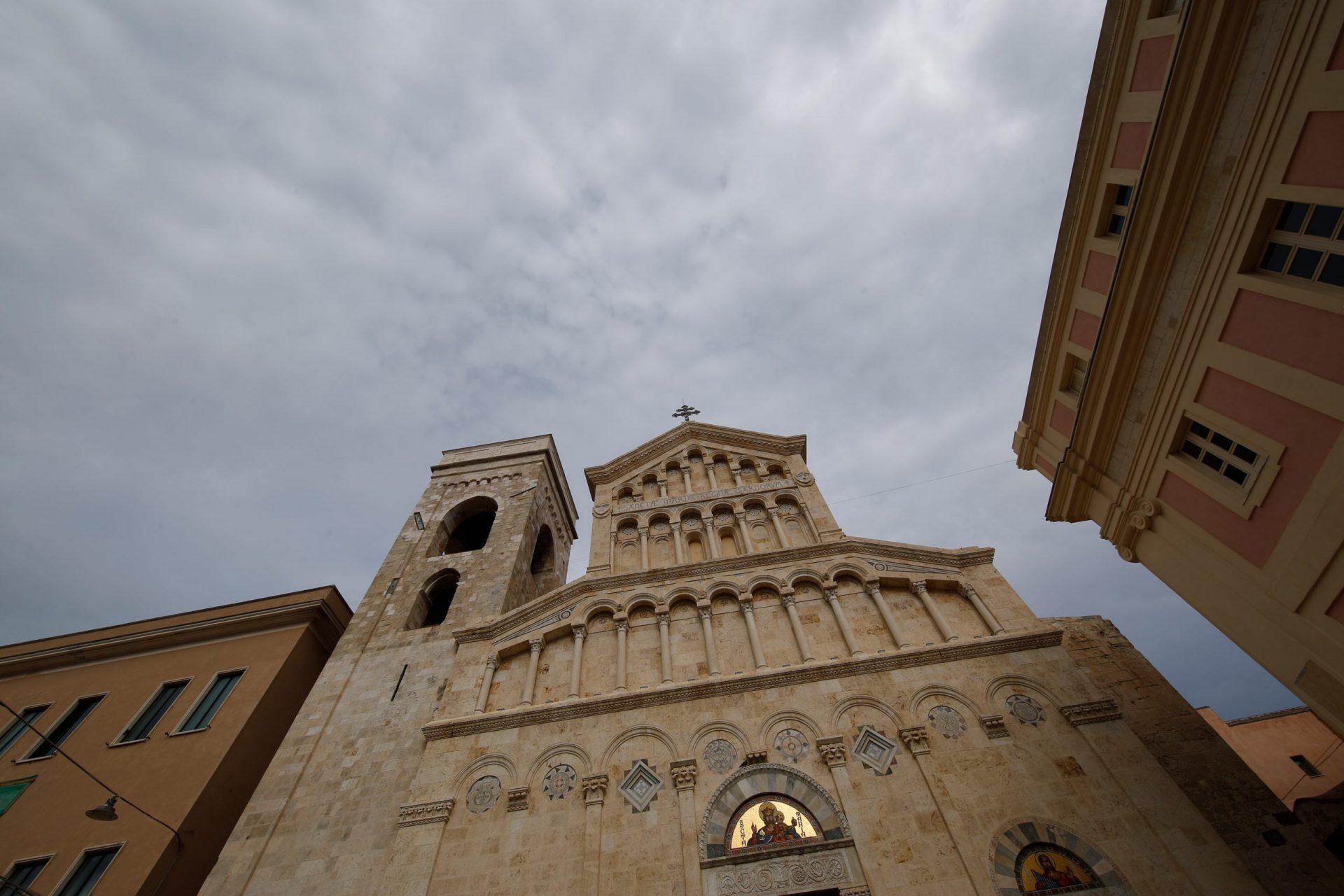 Gloria and Giovanni, Cagliari cathedral