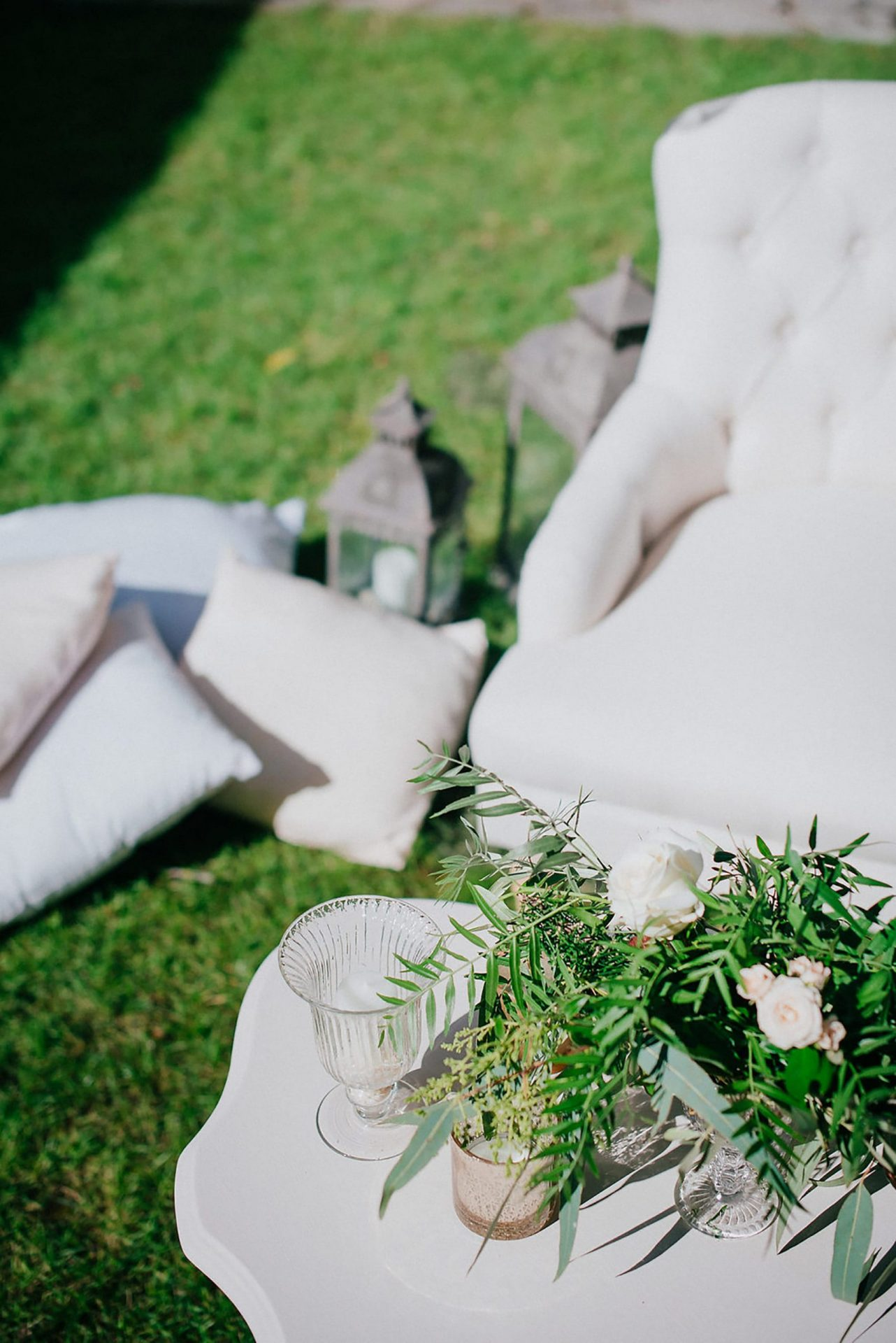 Ilaria e Giovanni, al fresco wedding, greenery details