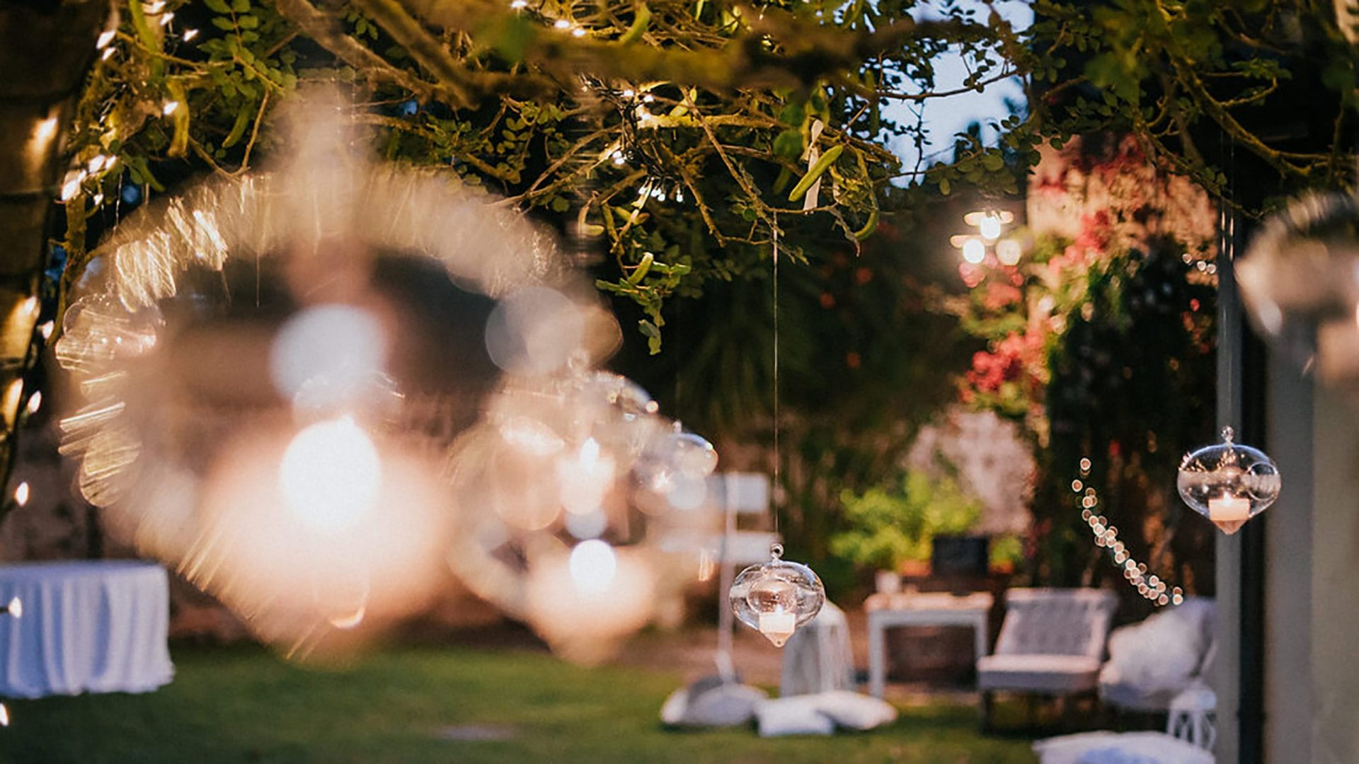 Ilaria e Giovanni, al fresco wedding decor