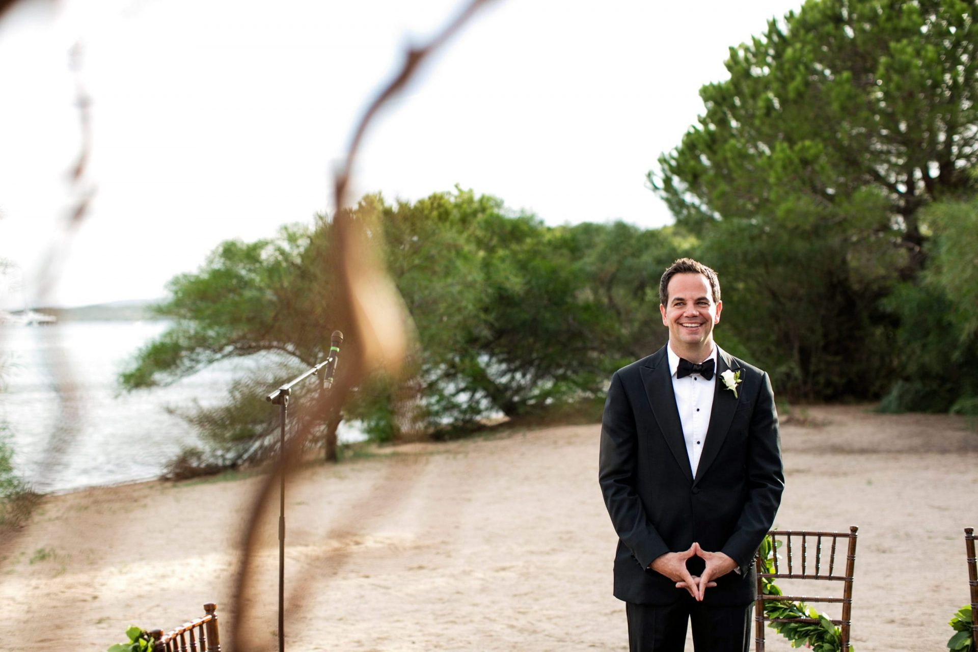 Lisa and Daniel, luxury wedding in Cala di Volpe, the groom