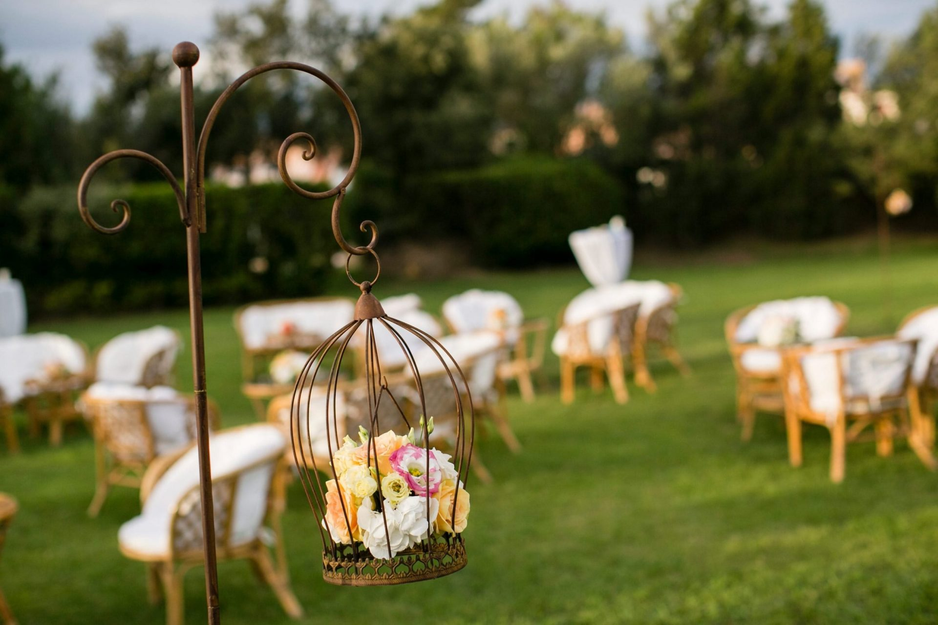 Lisa and Daniel, luxury wedding in Cala di Volpe, decor detail