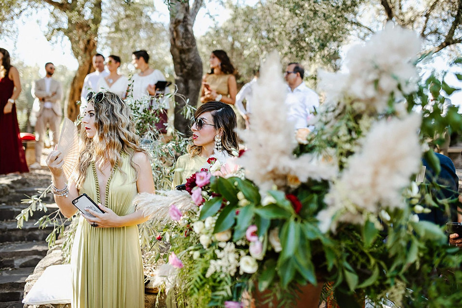 Marianna & Matteo, country syle wedding ceremony