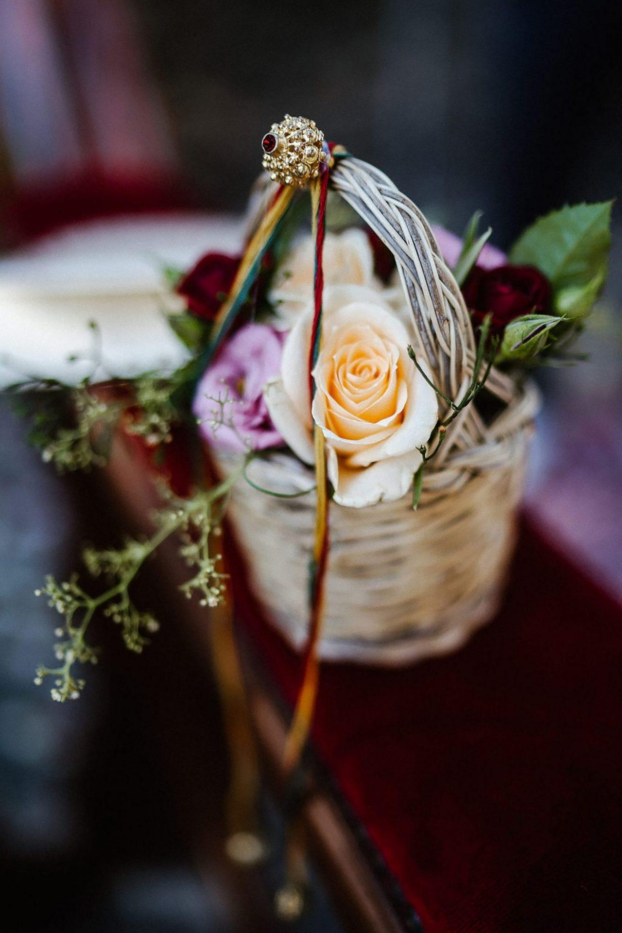Marianna & Matteo, Sardinia inspired wedding basket