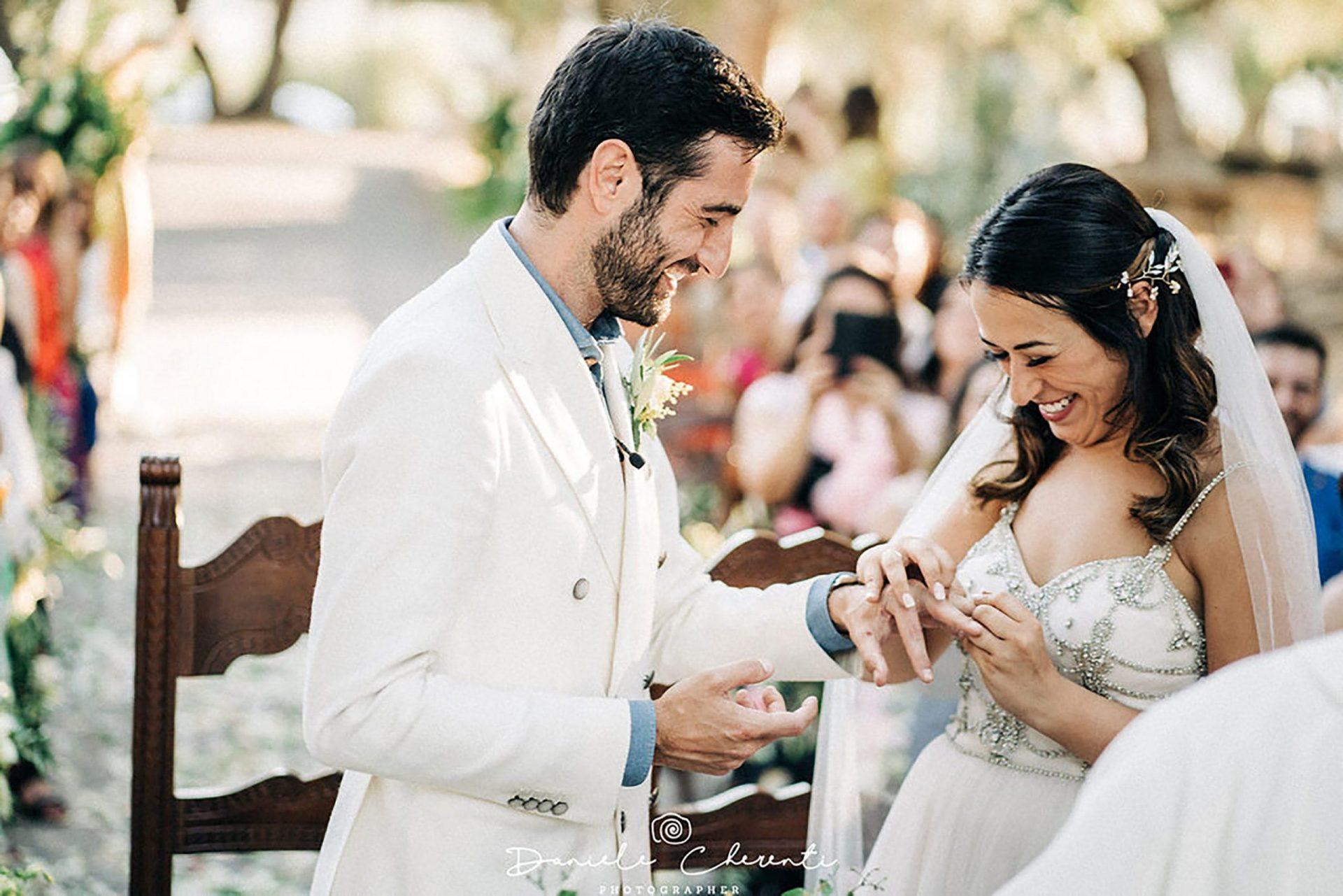 Marianna & Matteo, the wedding rings exchange