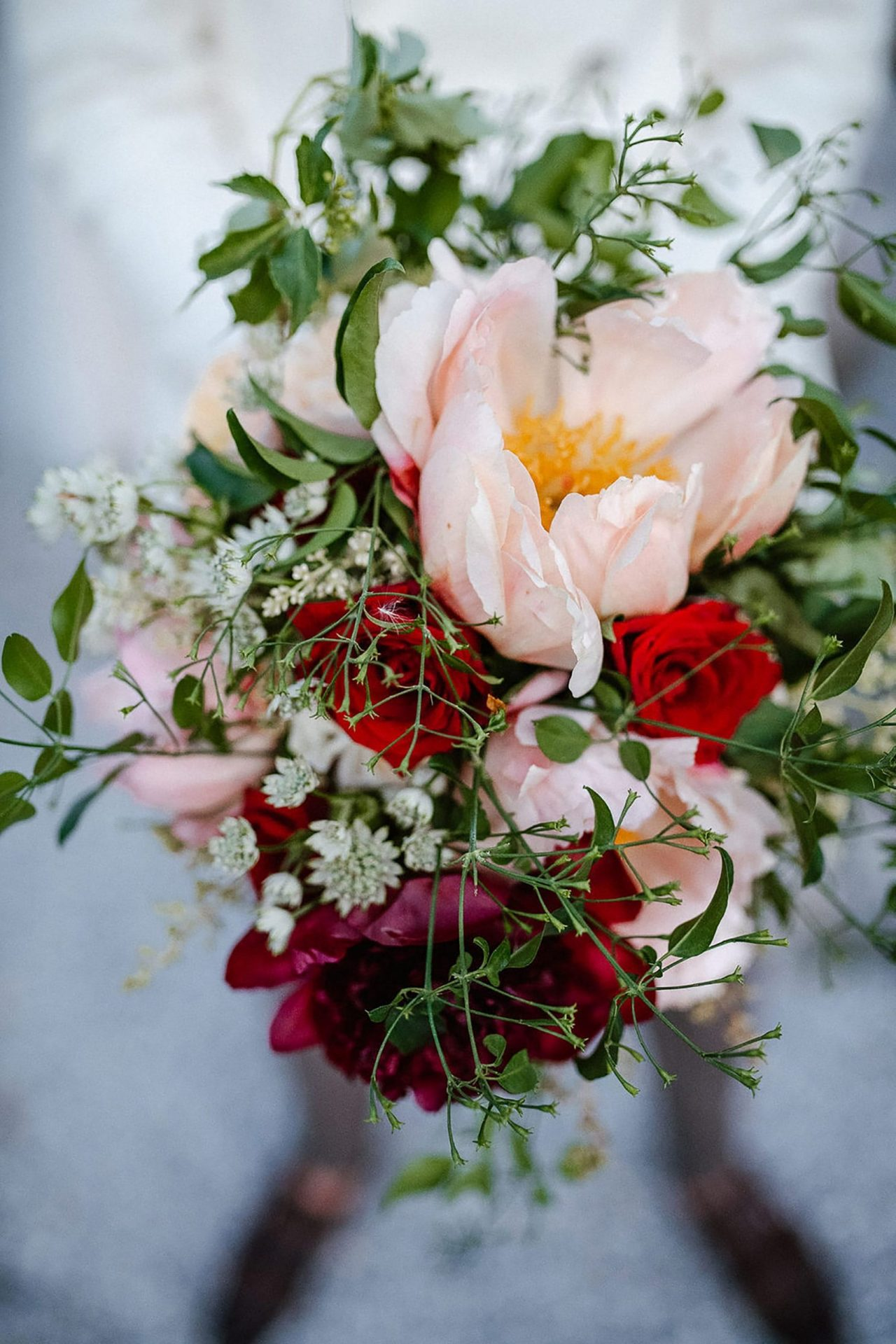 Marianna & Matteo, country style flowers detail