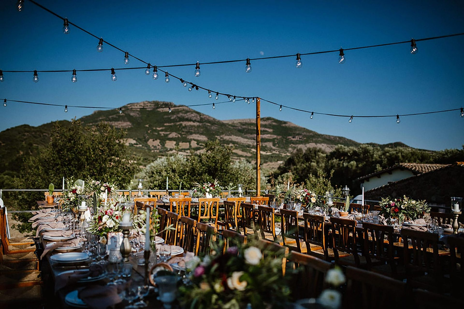 Marianna & Matteo, country inspired wedding reception