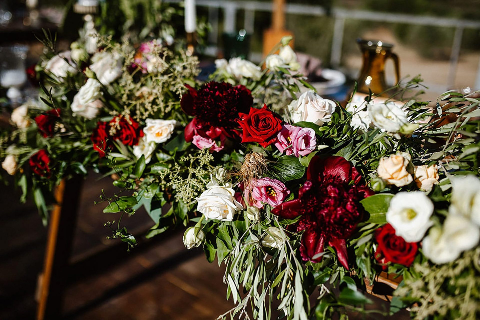 Marianna & Matteo, rustic flowers arrangements