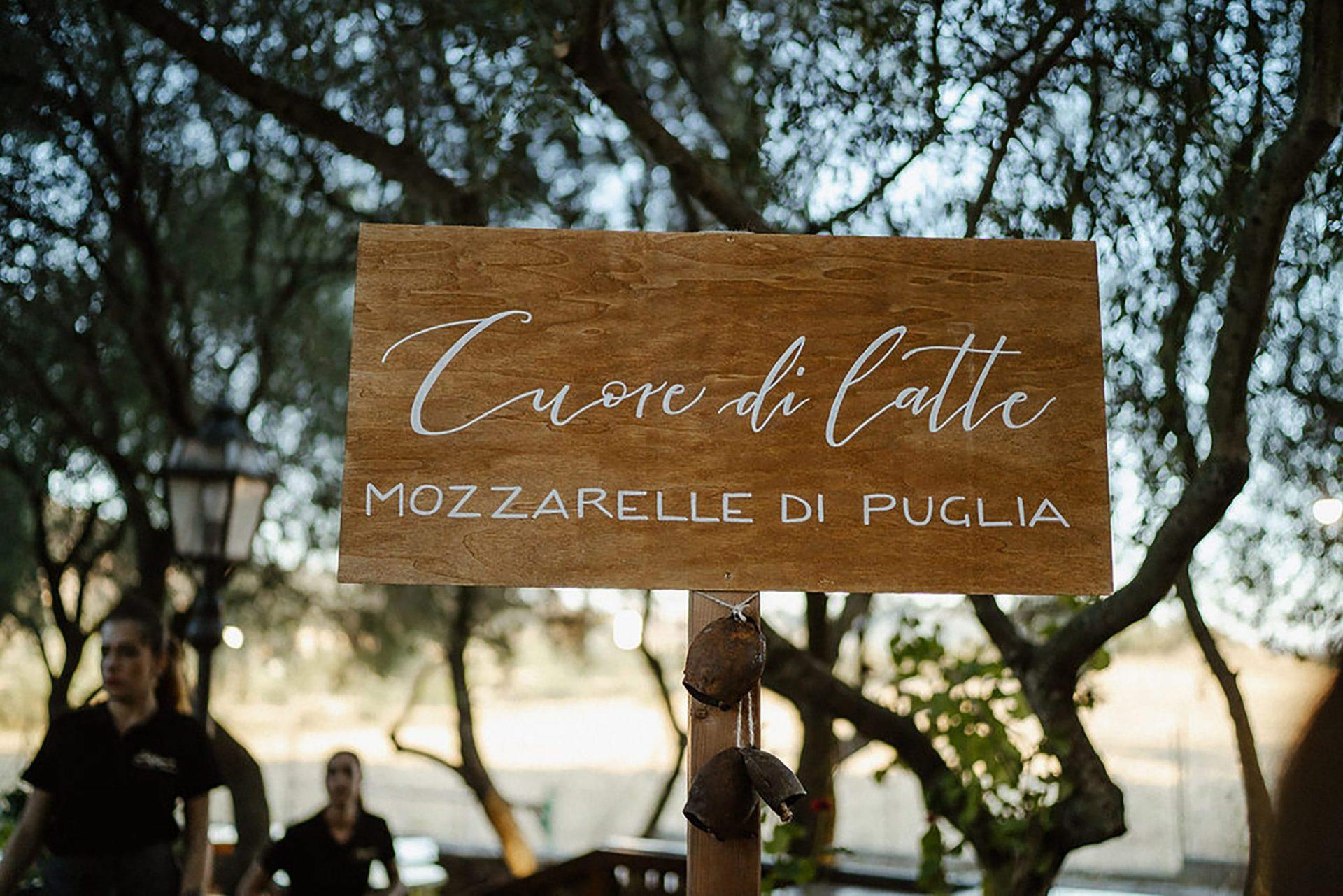 Marianna & Matteo, Apulia mozzarella buffet