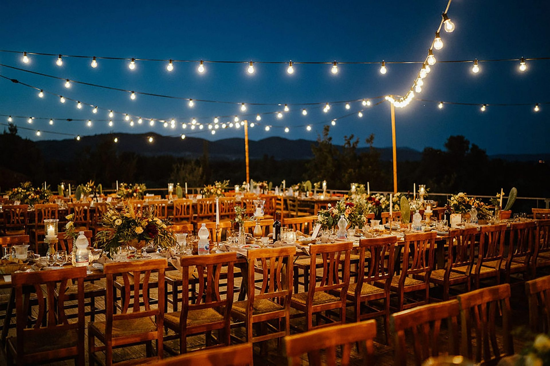 Marianna & Matteo, Sardinia country-style wedding reception