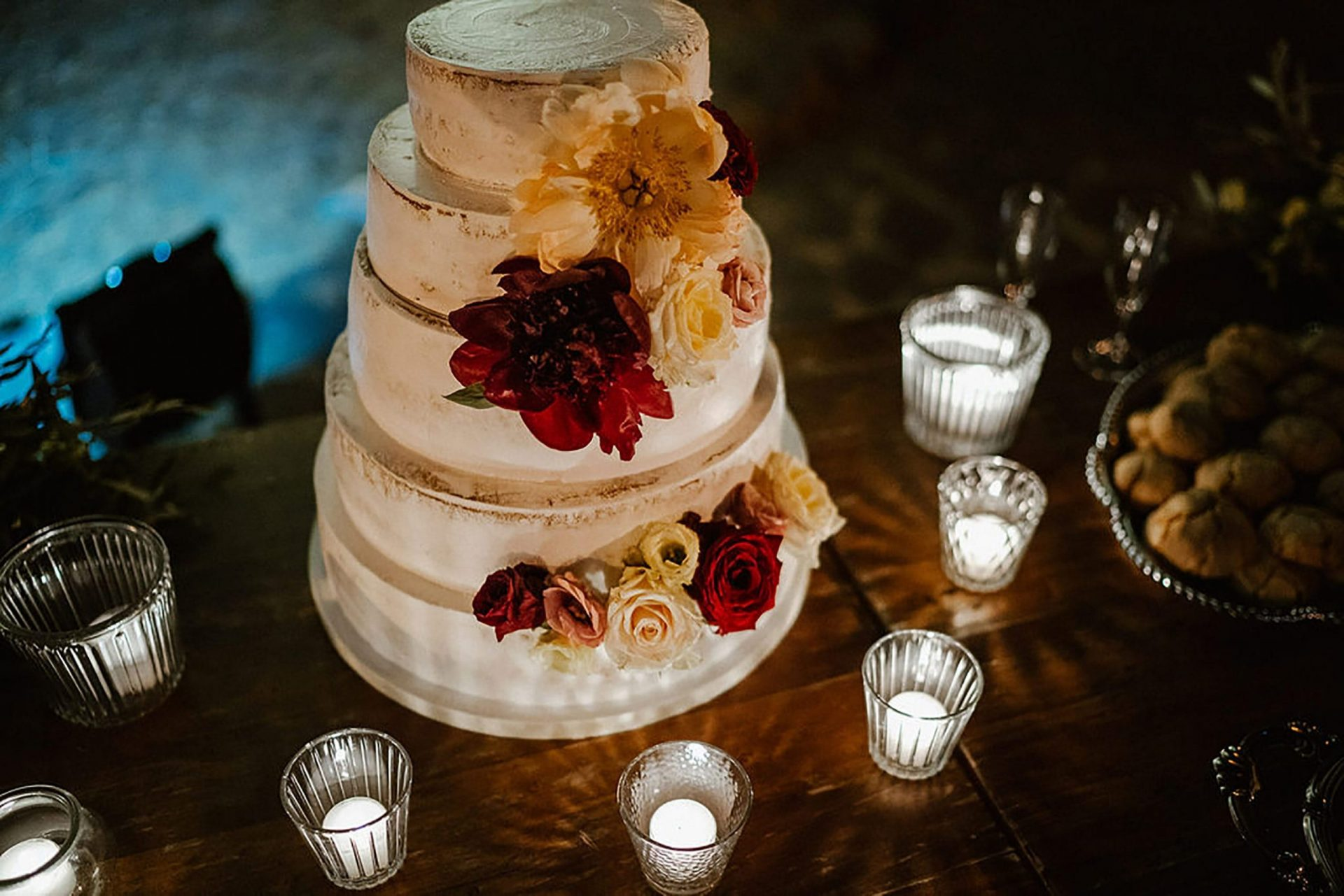 Marianna & Matteo, nude wedding cake