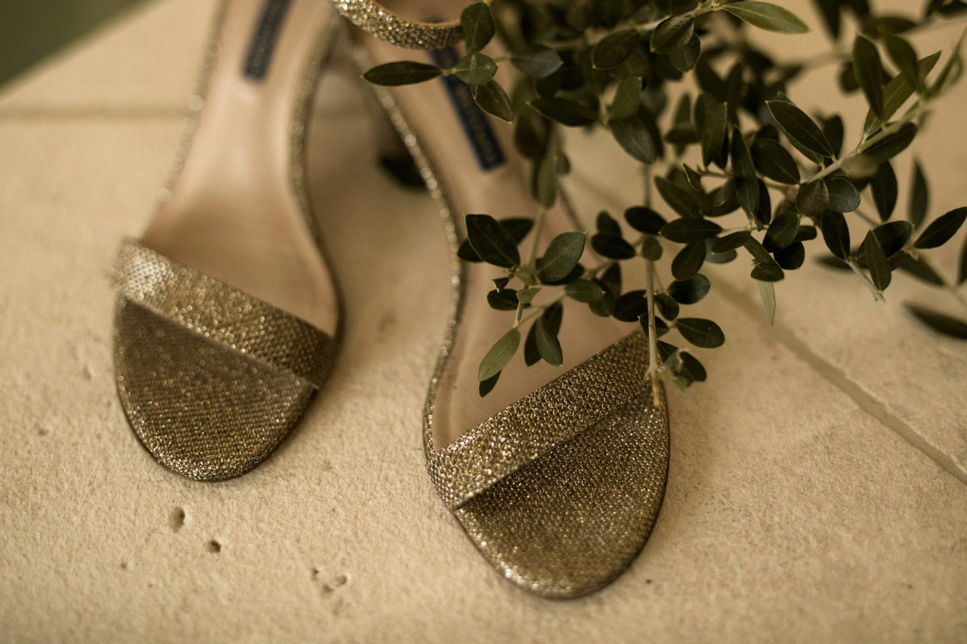 Melanie & Perit, the brides shoes