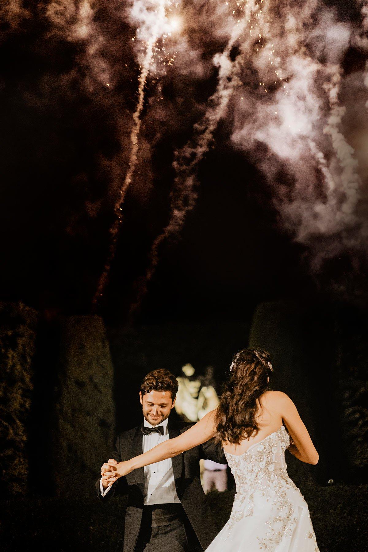 Ranya and Tarek, first dance