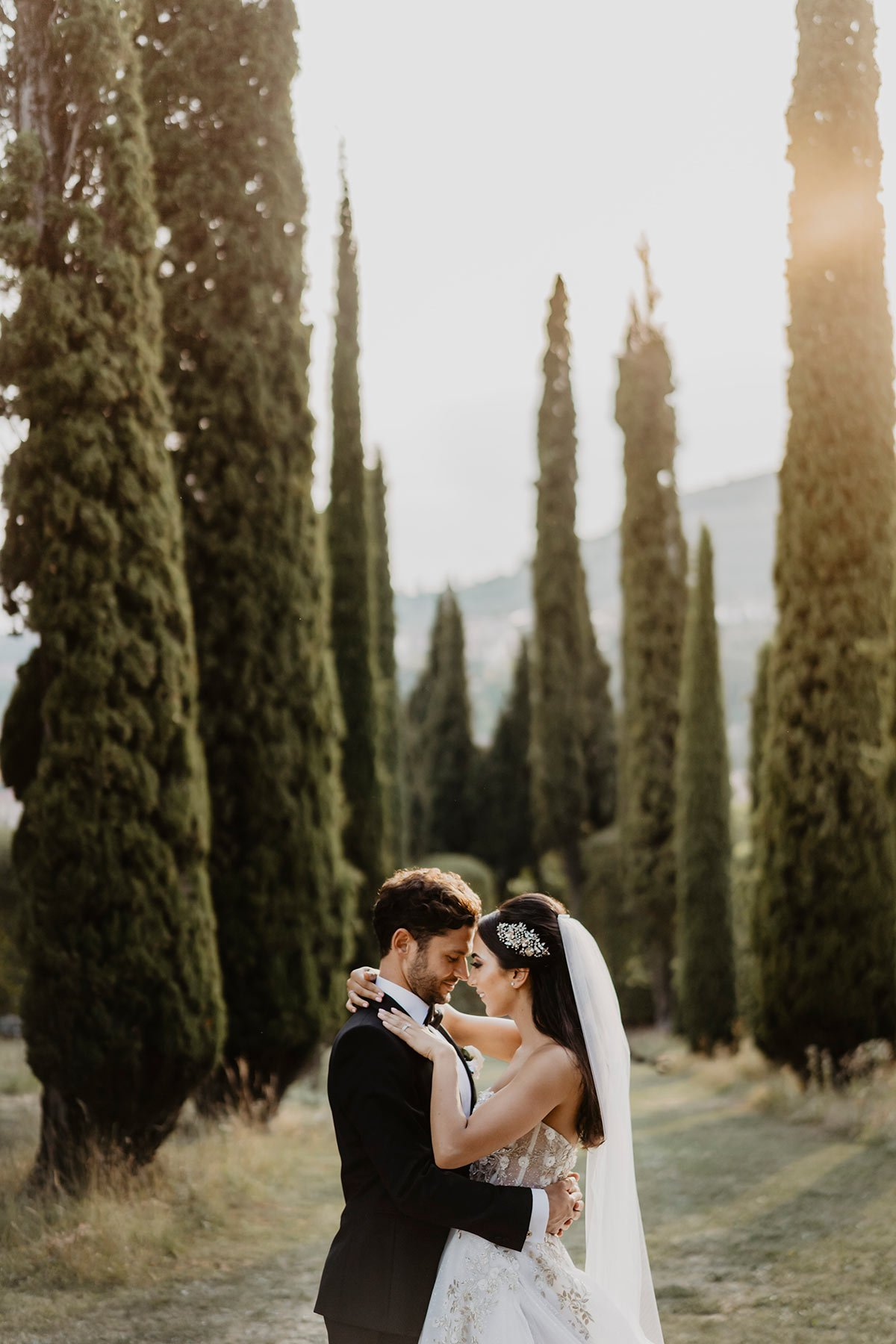 Ranya and Tarek, the bride and the groom
