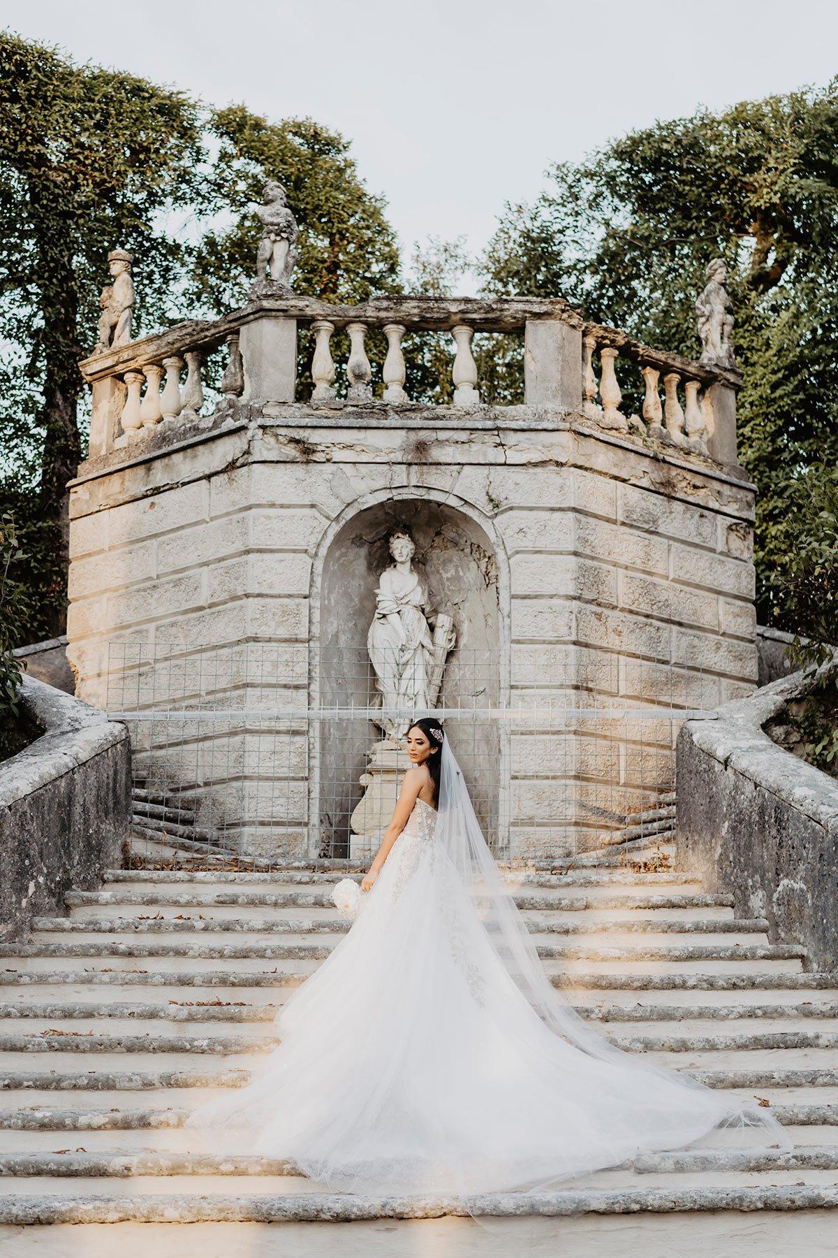Ranya and Tarek, the bride