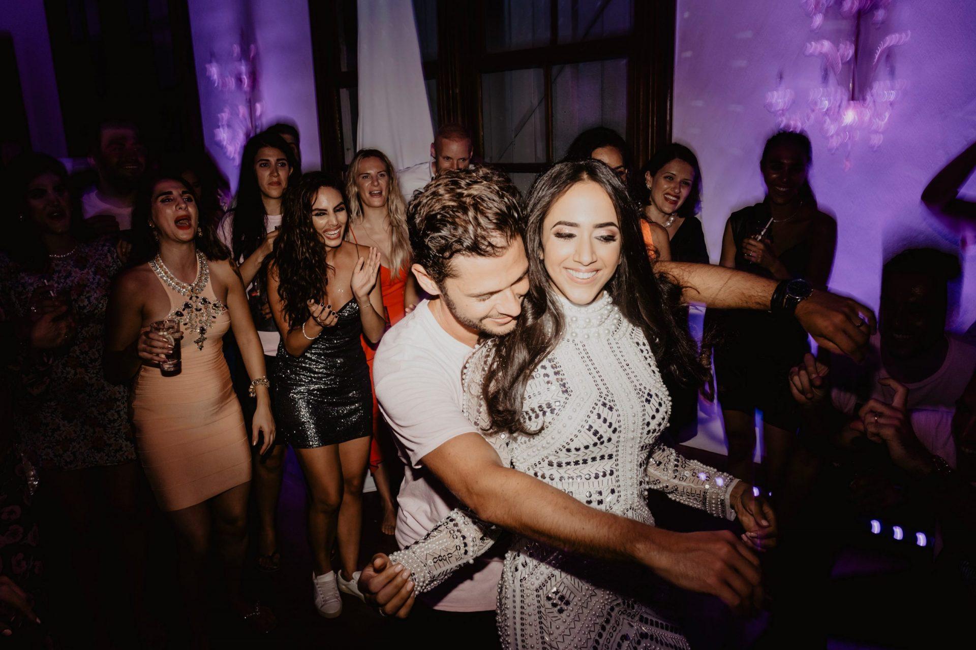 Ranya and Tarek, wedding party