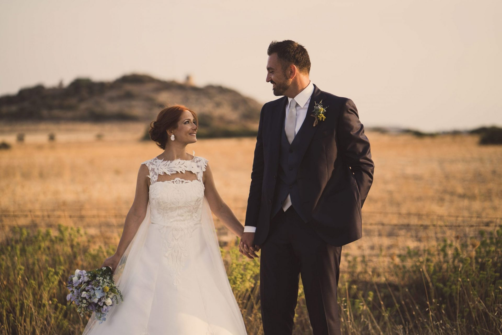 Sara and Leonardo, Sardinia country wedding