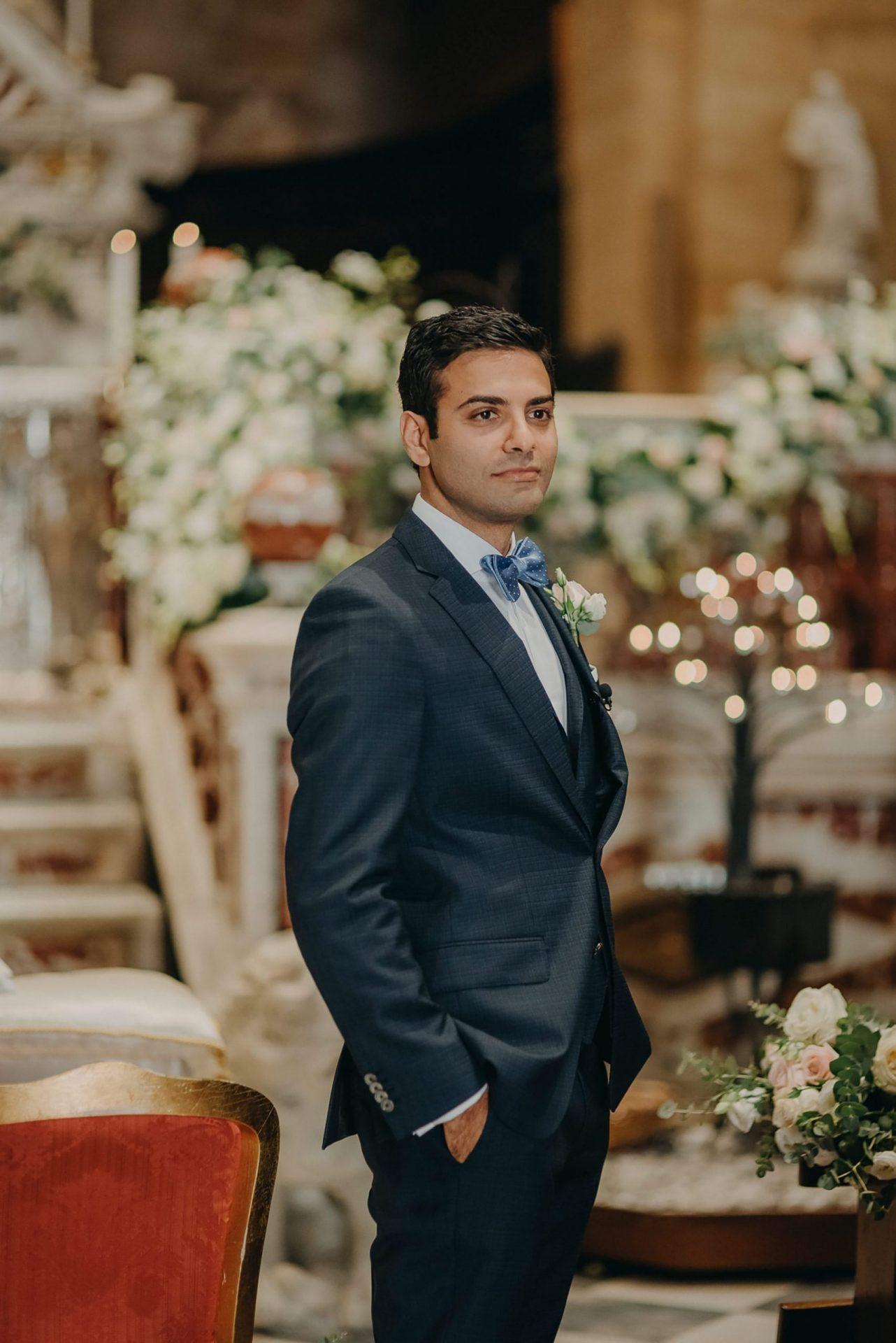 Simona and Elie, the groom
