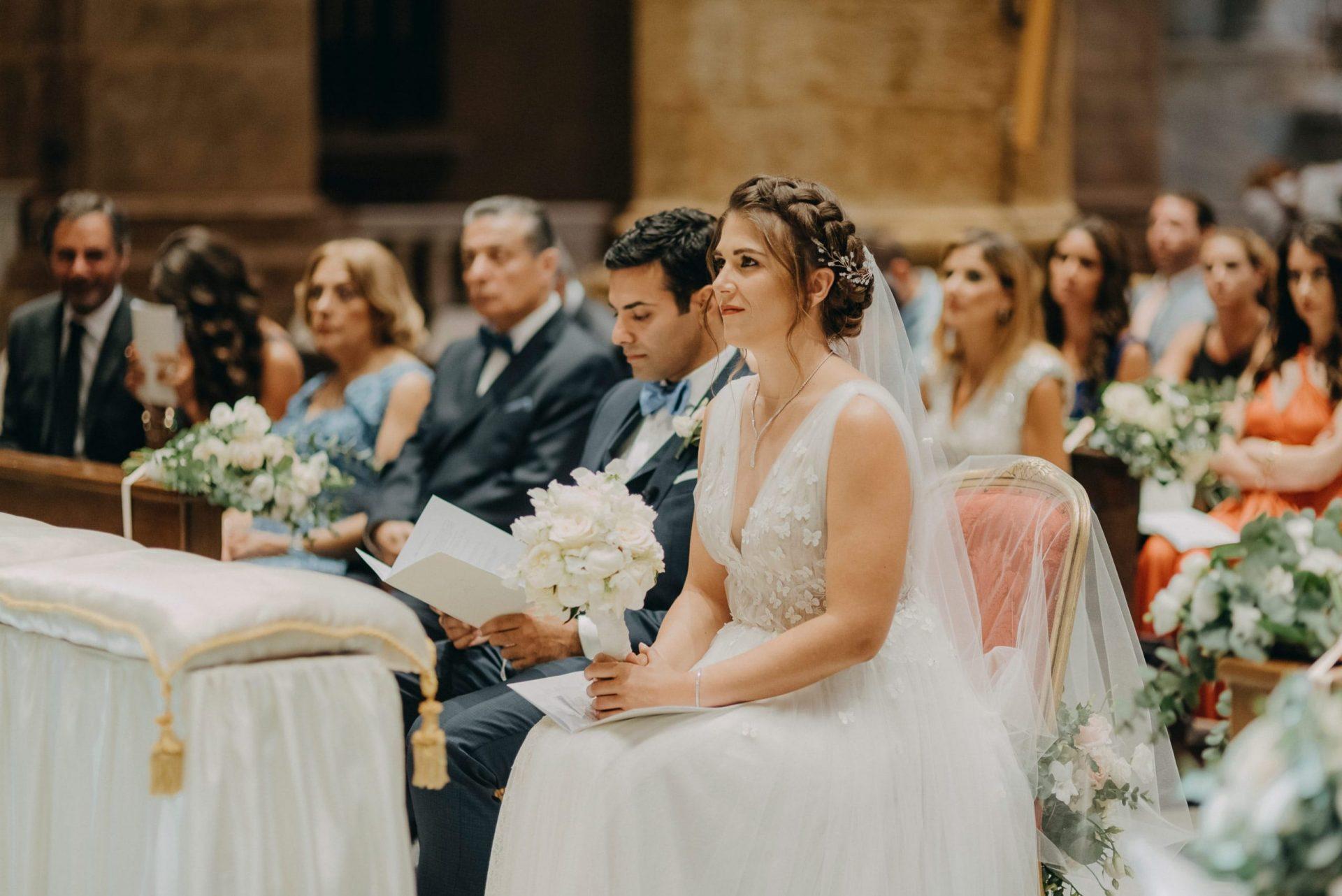 Simona and Elie, wedding ceremony