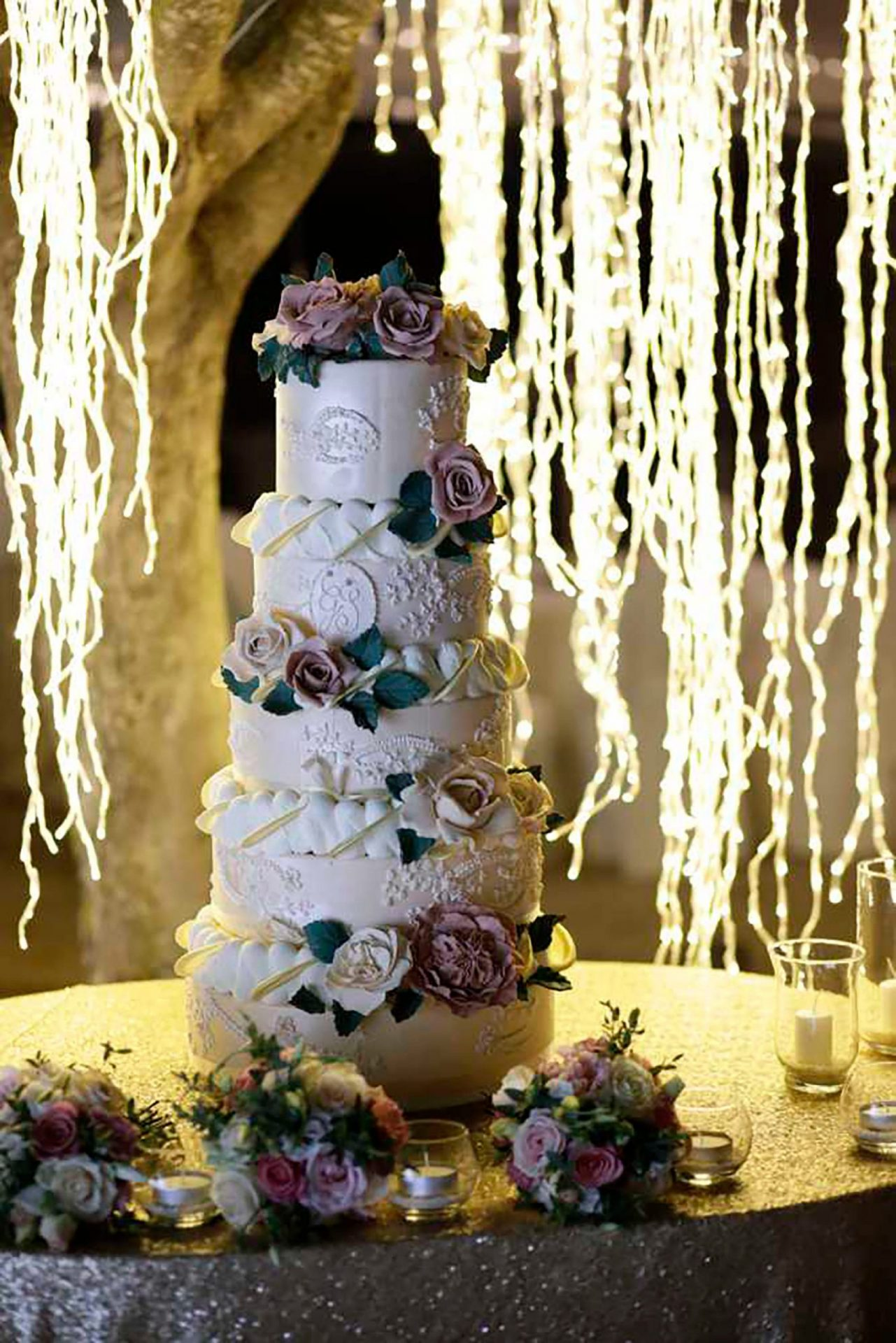 Simona and Giovanni, wedding cake