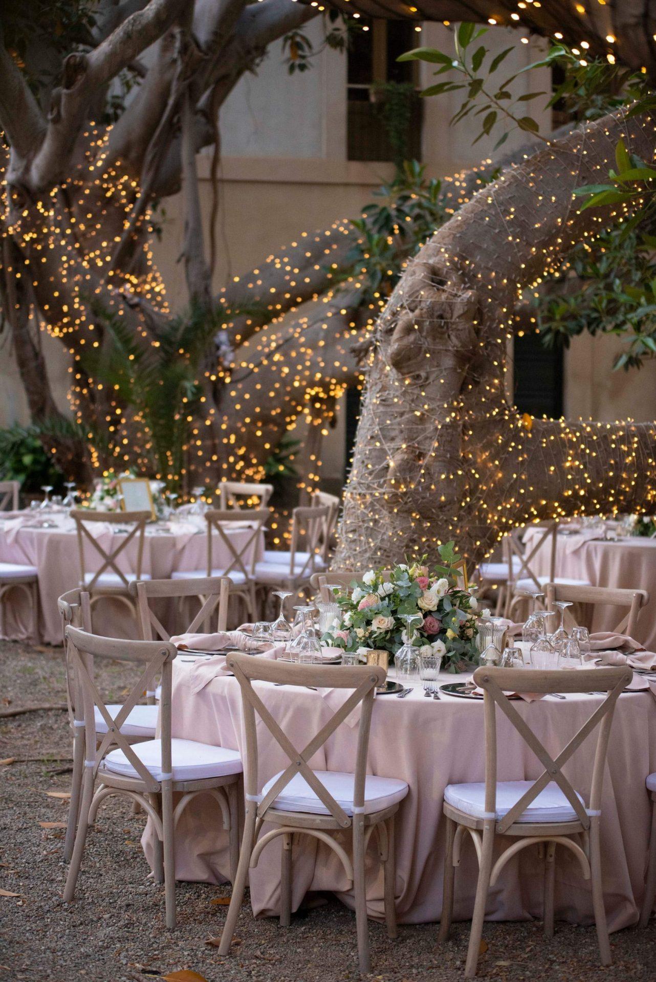 Federica and Stefano, romantic wedding reception