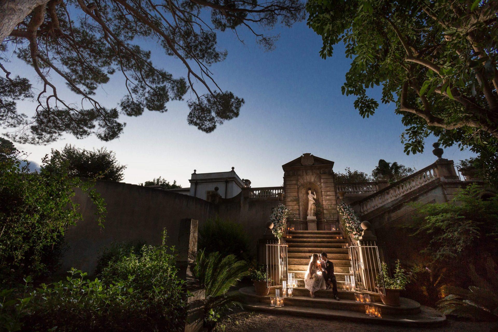 Federica and Stefano, historical villa in Cagliari