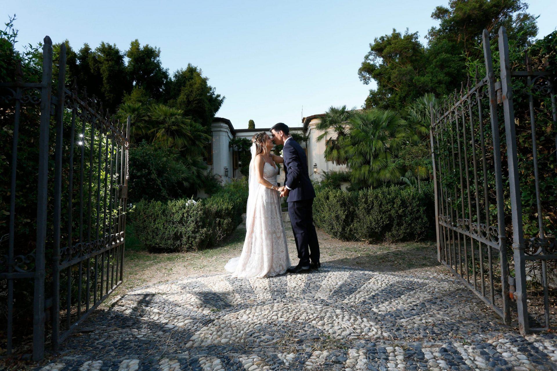 Stefano e Federica, the bride and the groom