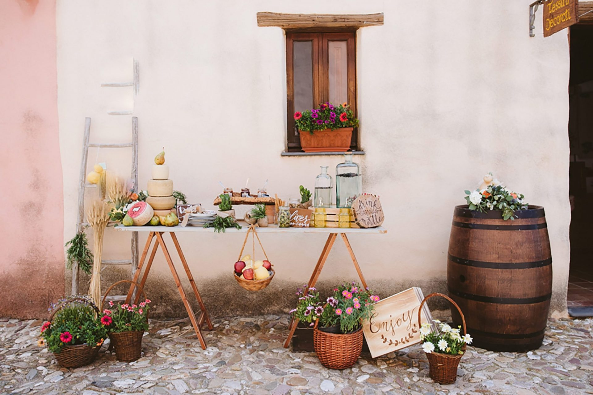 Elopement in traditional Italian village, design