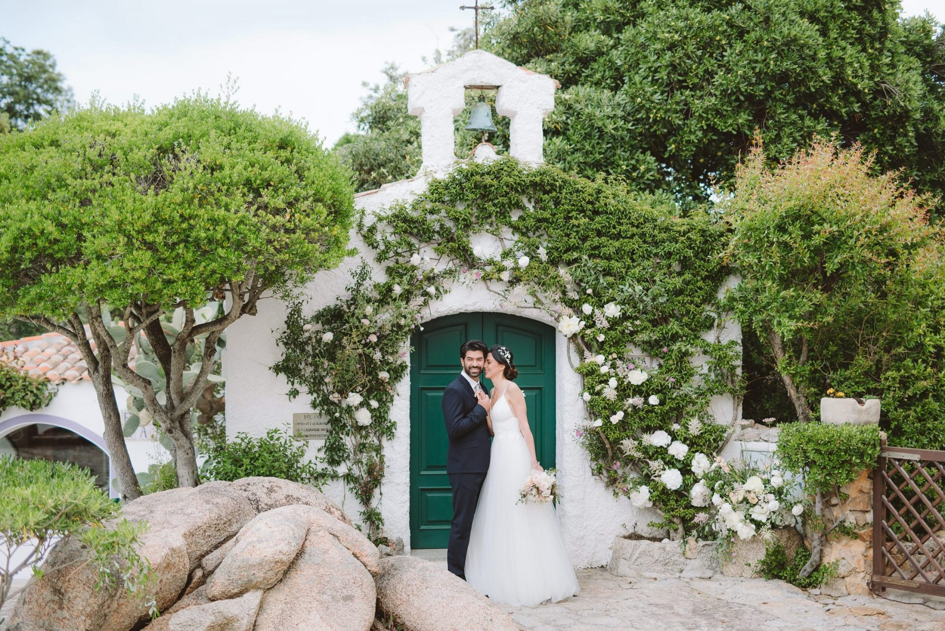 Elopement in Costa Smeralda, ceremony