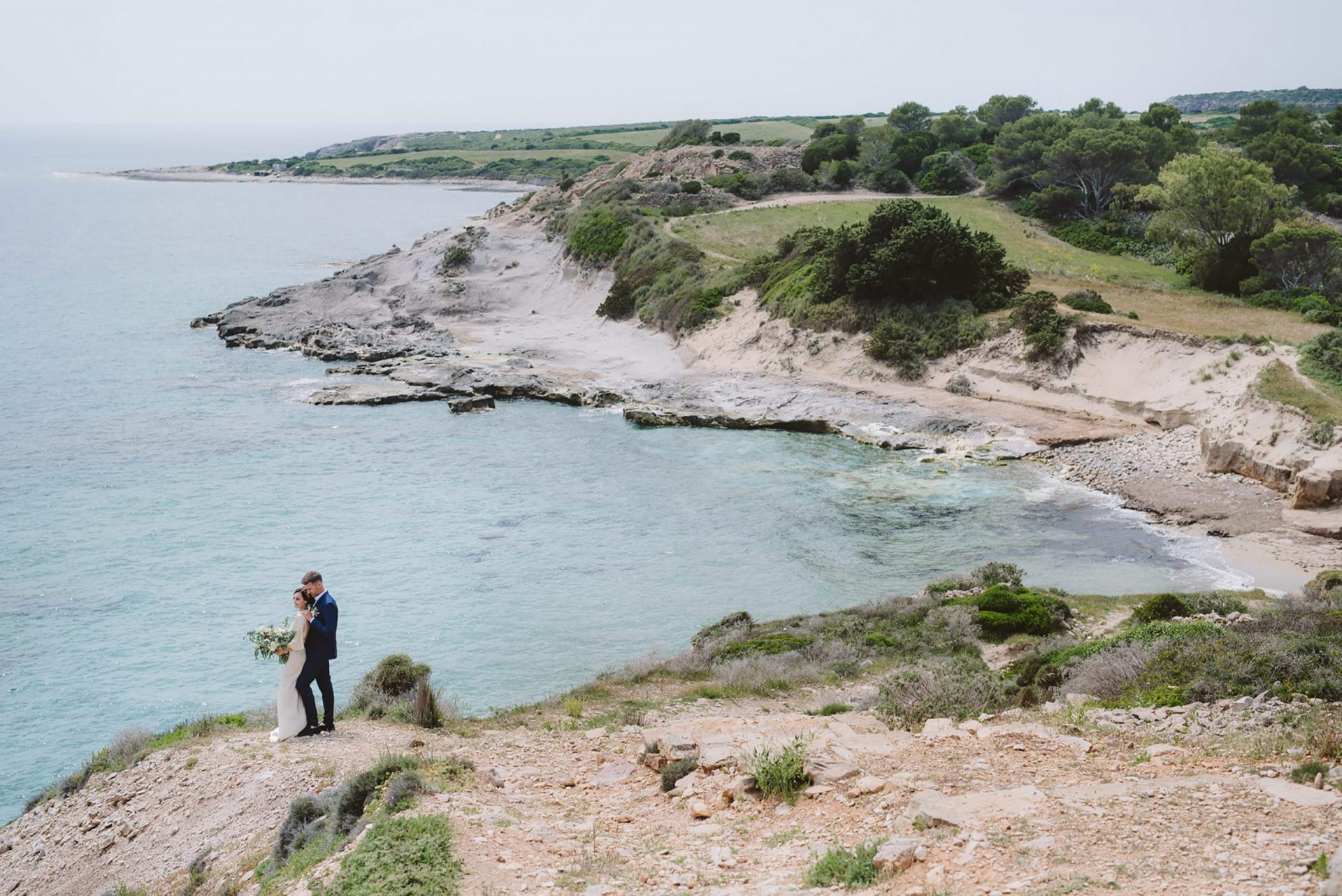 Elopement in San Pietro Island