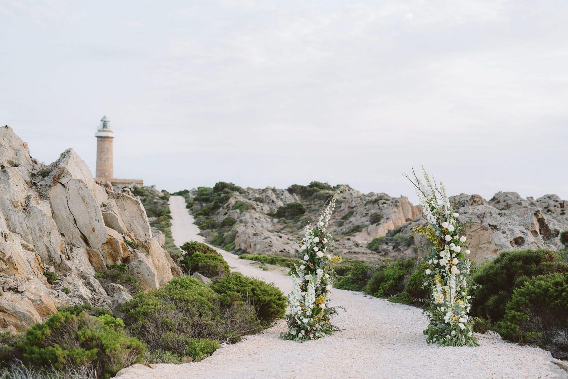 Elopement in San Pietro Island, Sardinia, Italy