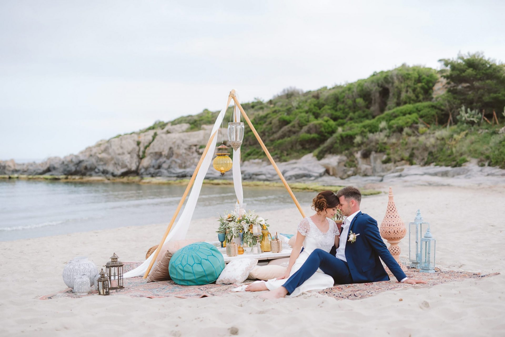 Luxury wedding planning and design Sardinia, Elopement San Pietro Island
