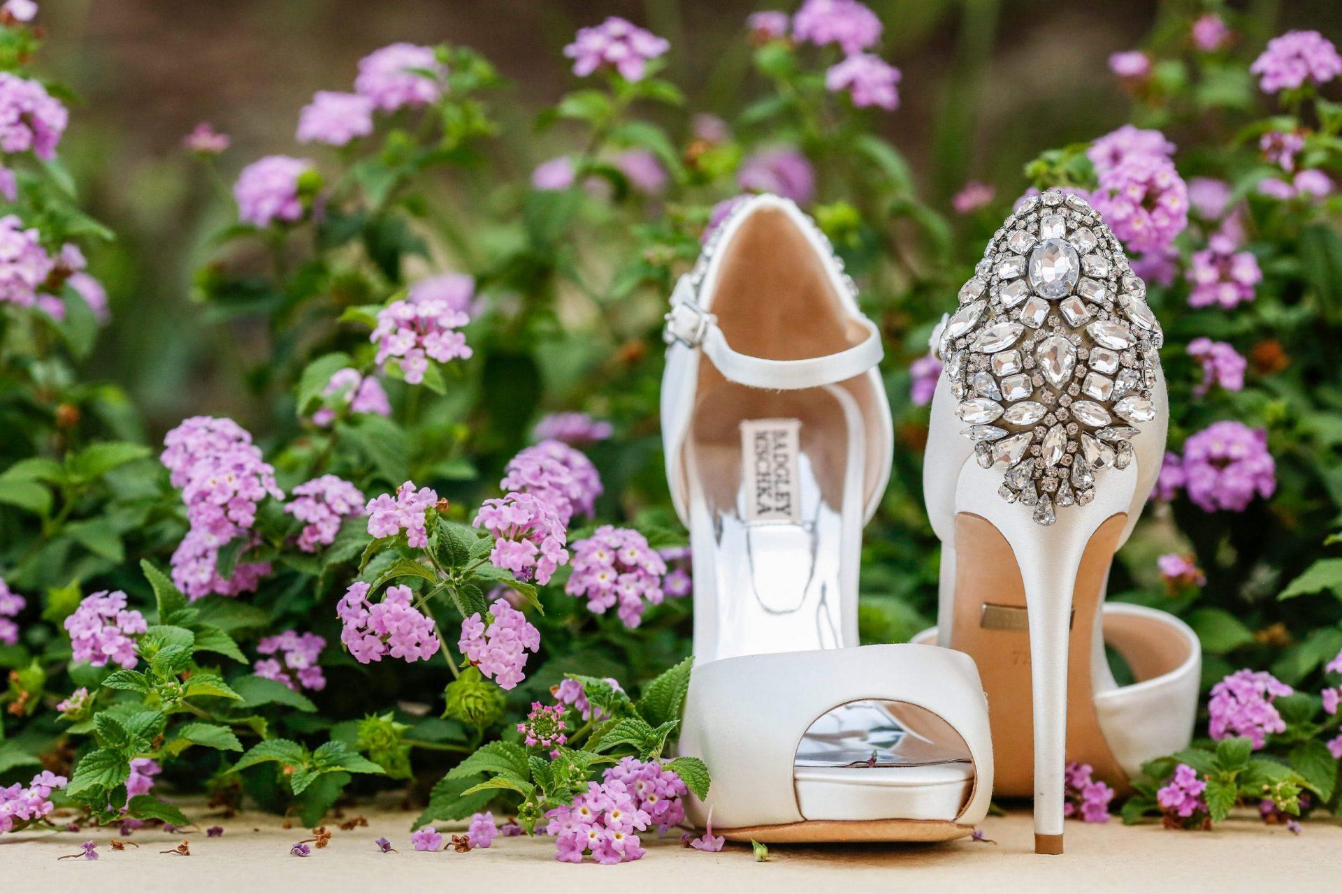 Enza e Samuele, the bride shoes