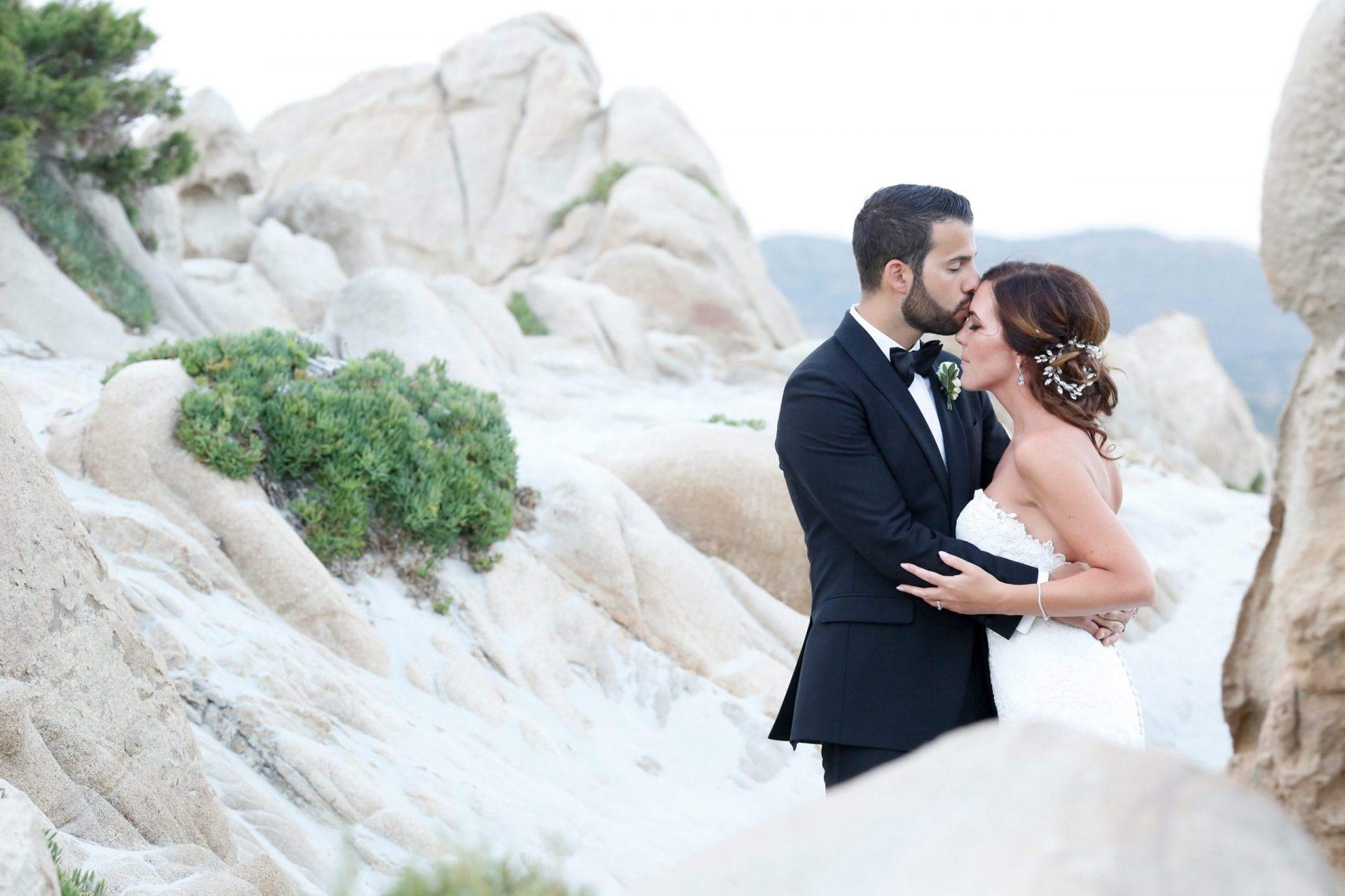 Enza e Samuele, the bride and the groom
