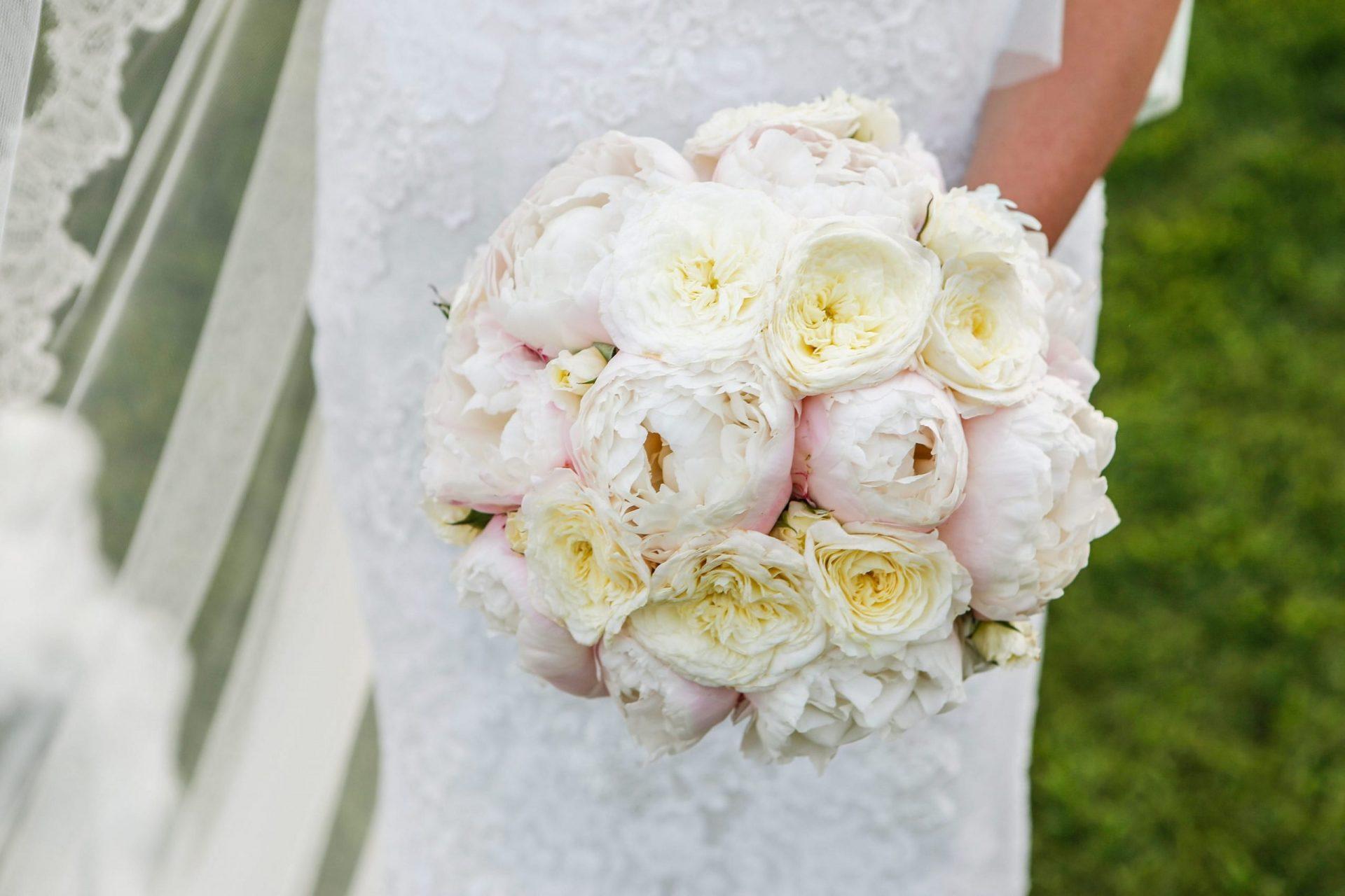 Enza e Samuele, bride bouquet