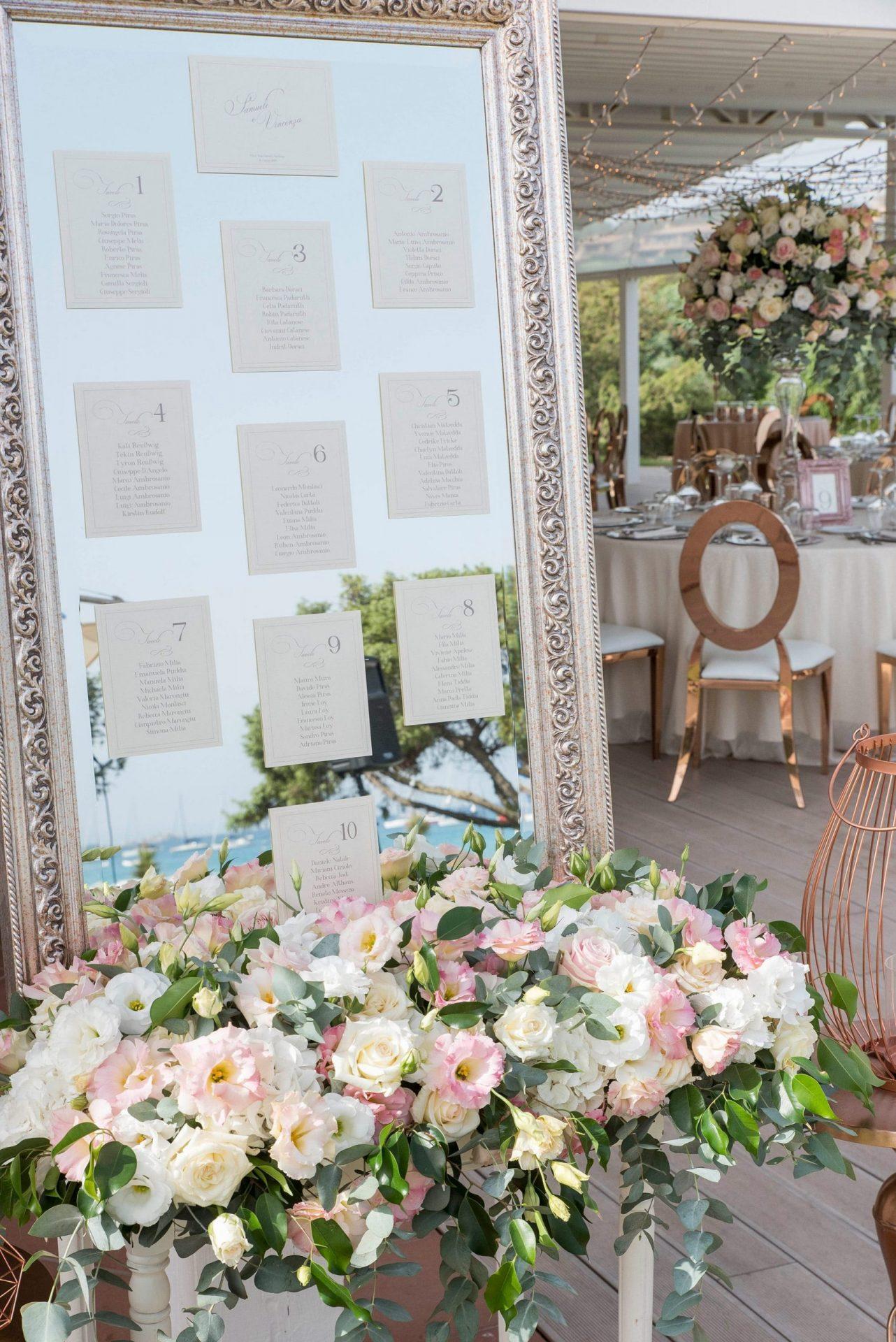 Enza e Samuele, wedding reception, elegant tableau