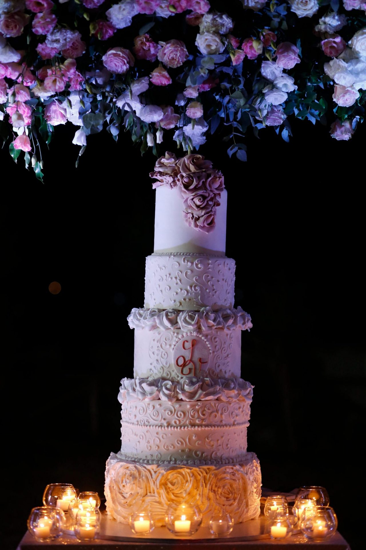 Enza e Samuele, wedding cake
