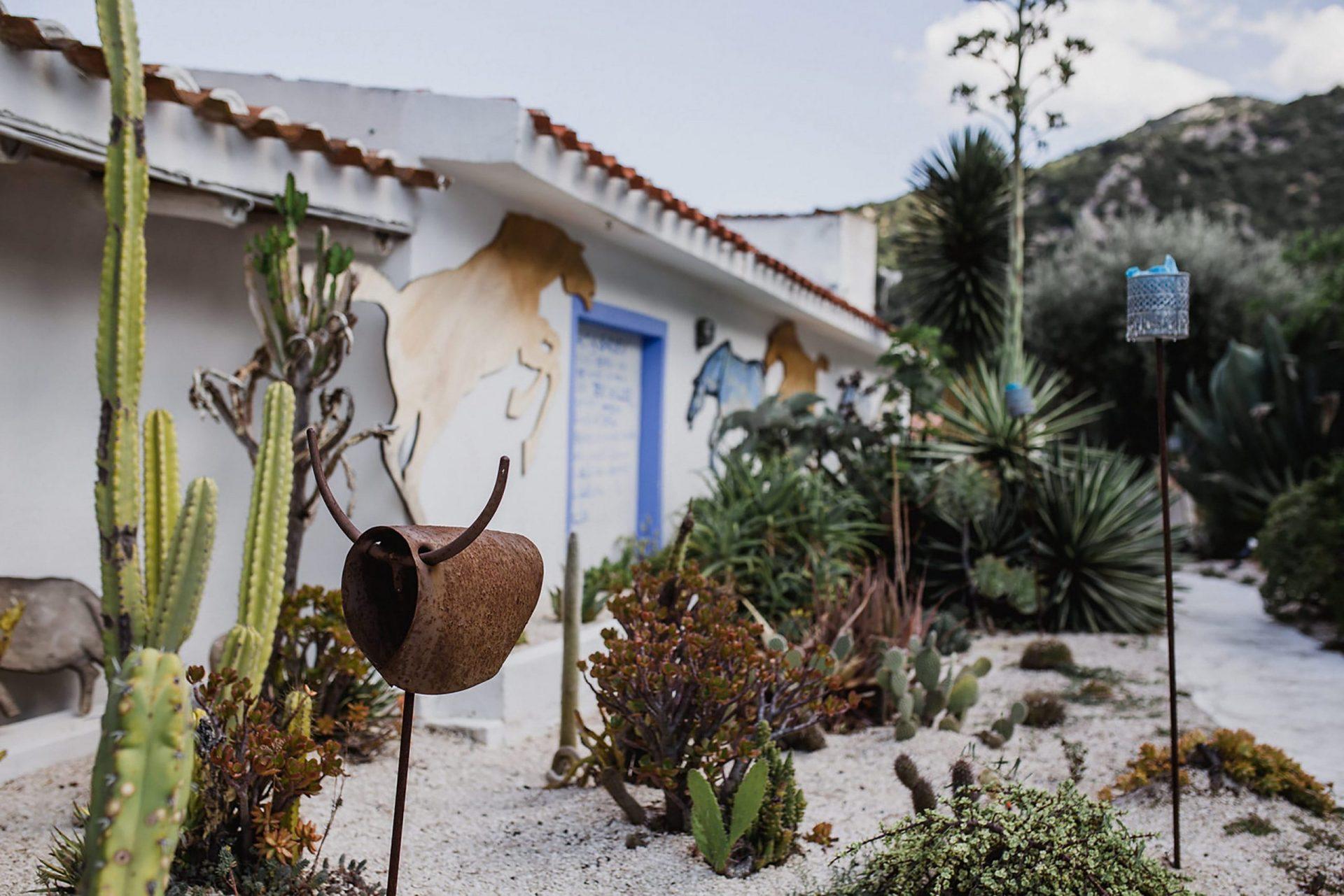 Su Gologone wedding, Sardinia garden
