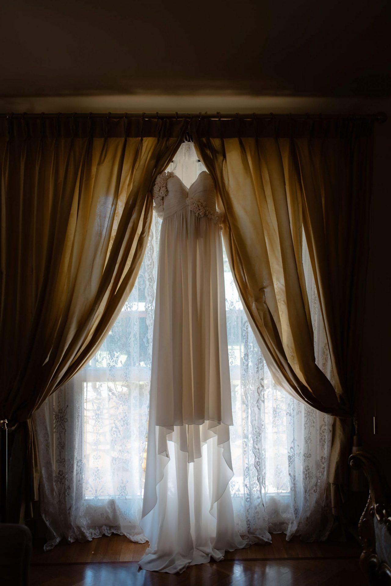 Francesca and Francesco, wedding dress