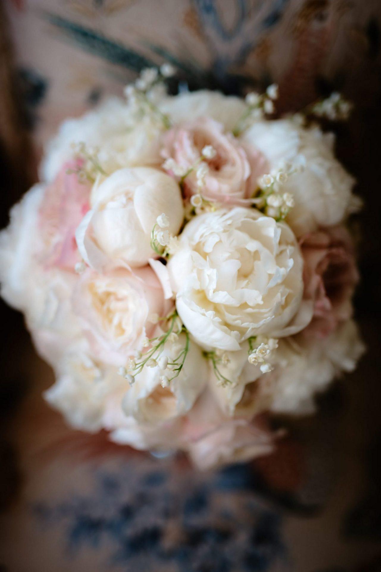 Francesca and Francesco, the bride bouquet