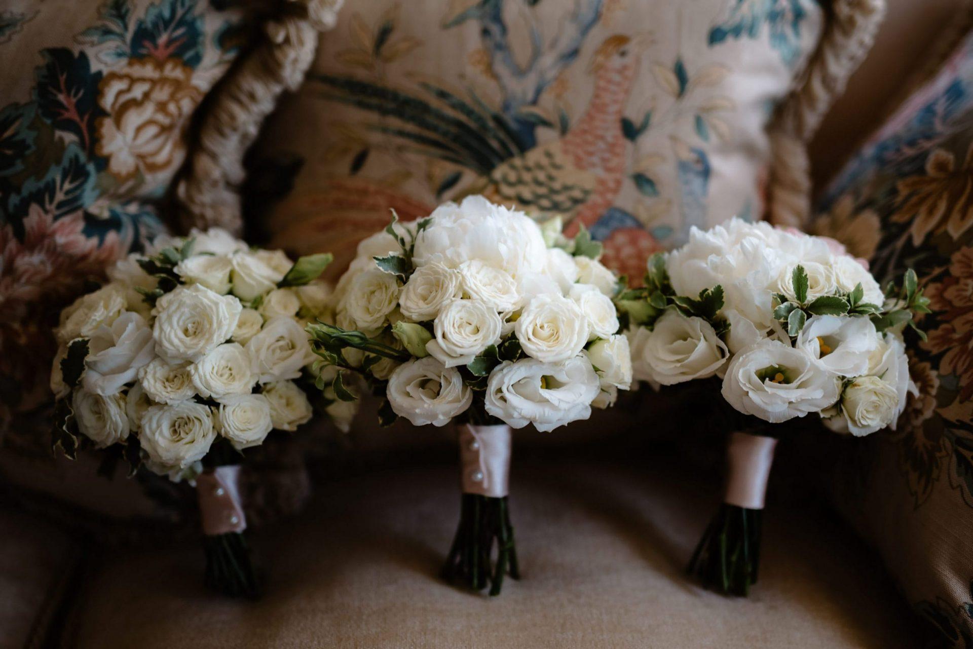 Francesca and Francesco, bridesmaids bouquet