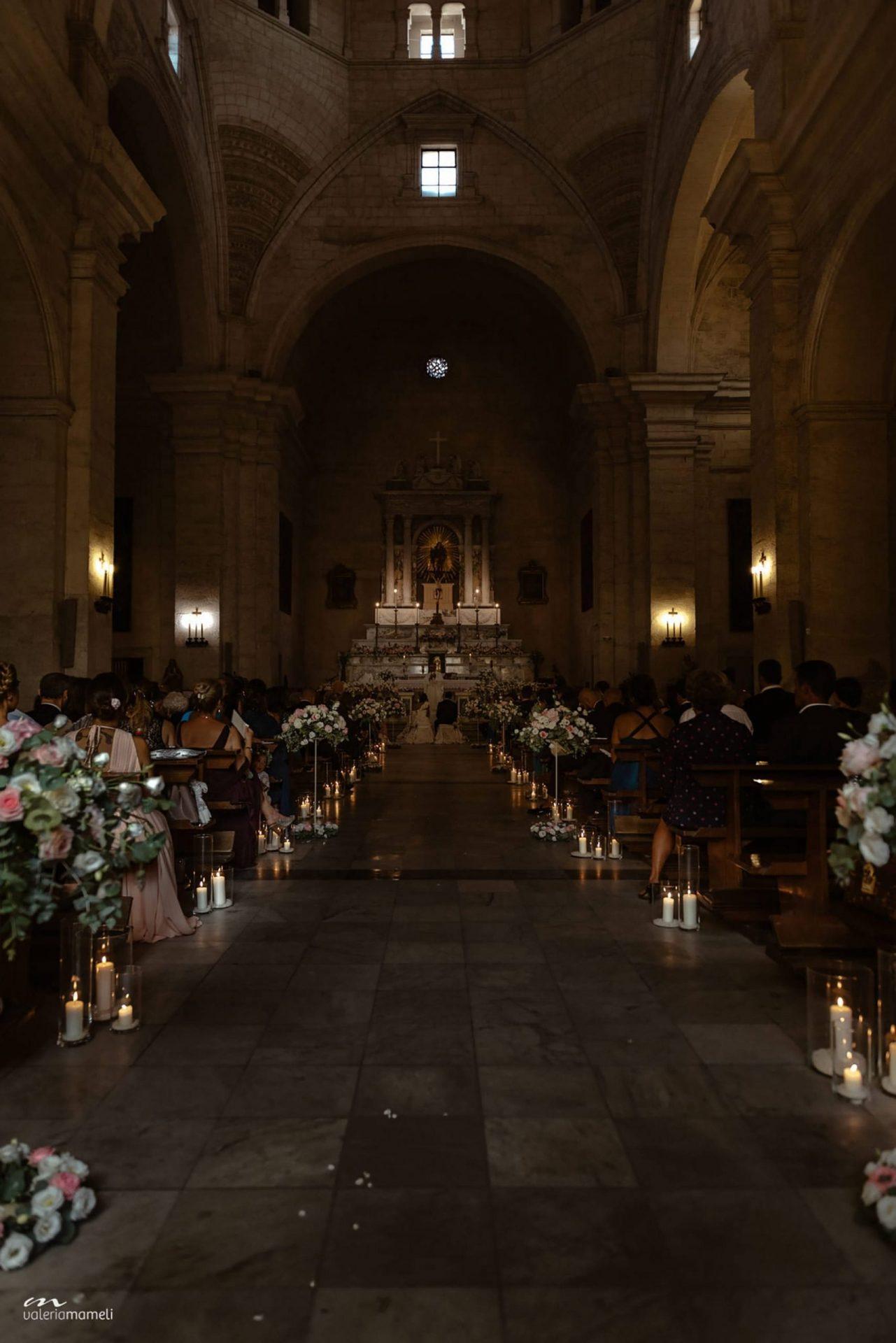 Francesca and Francesco, church ceremony