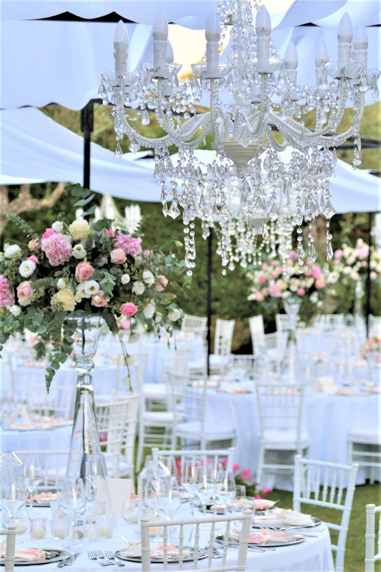 Francesca and Francesco, romantic wedding reception