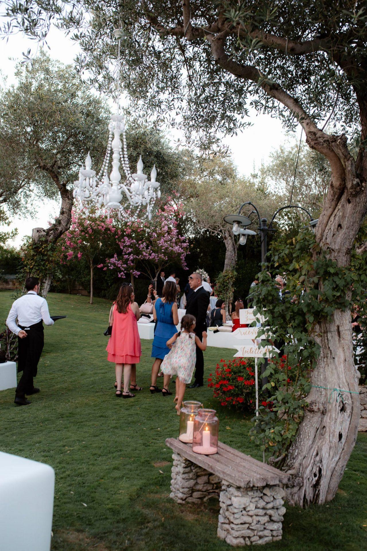 Francesca and Francesco, secret garden wedding