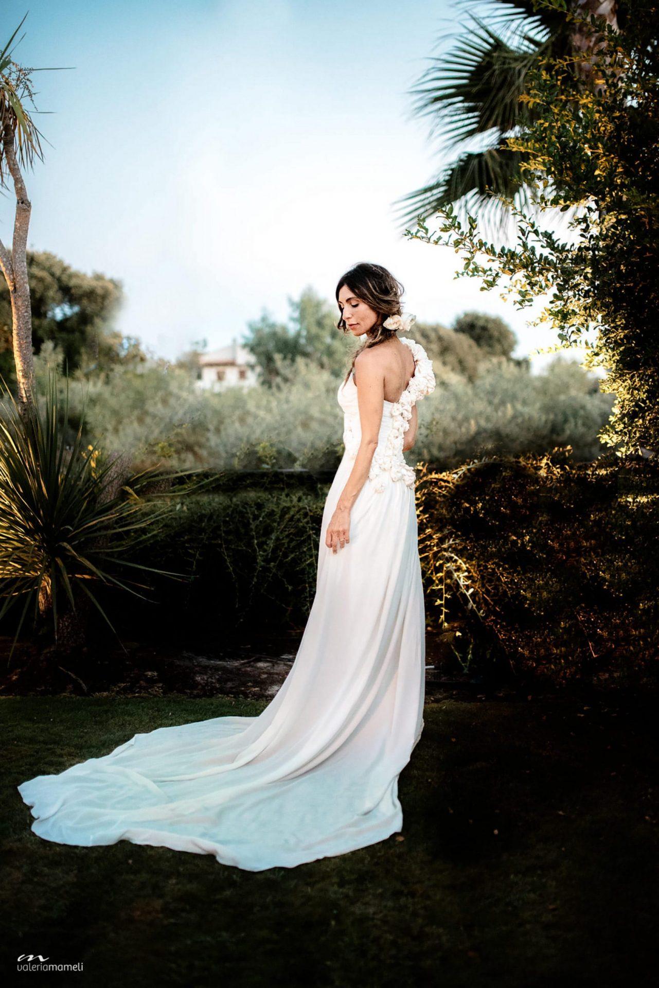 Francesca and Francesco, the bride