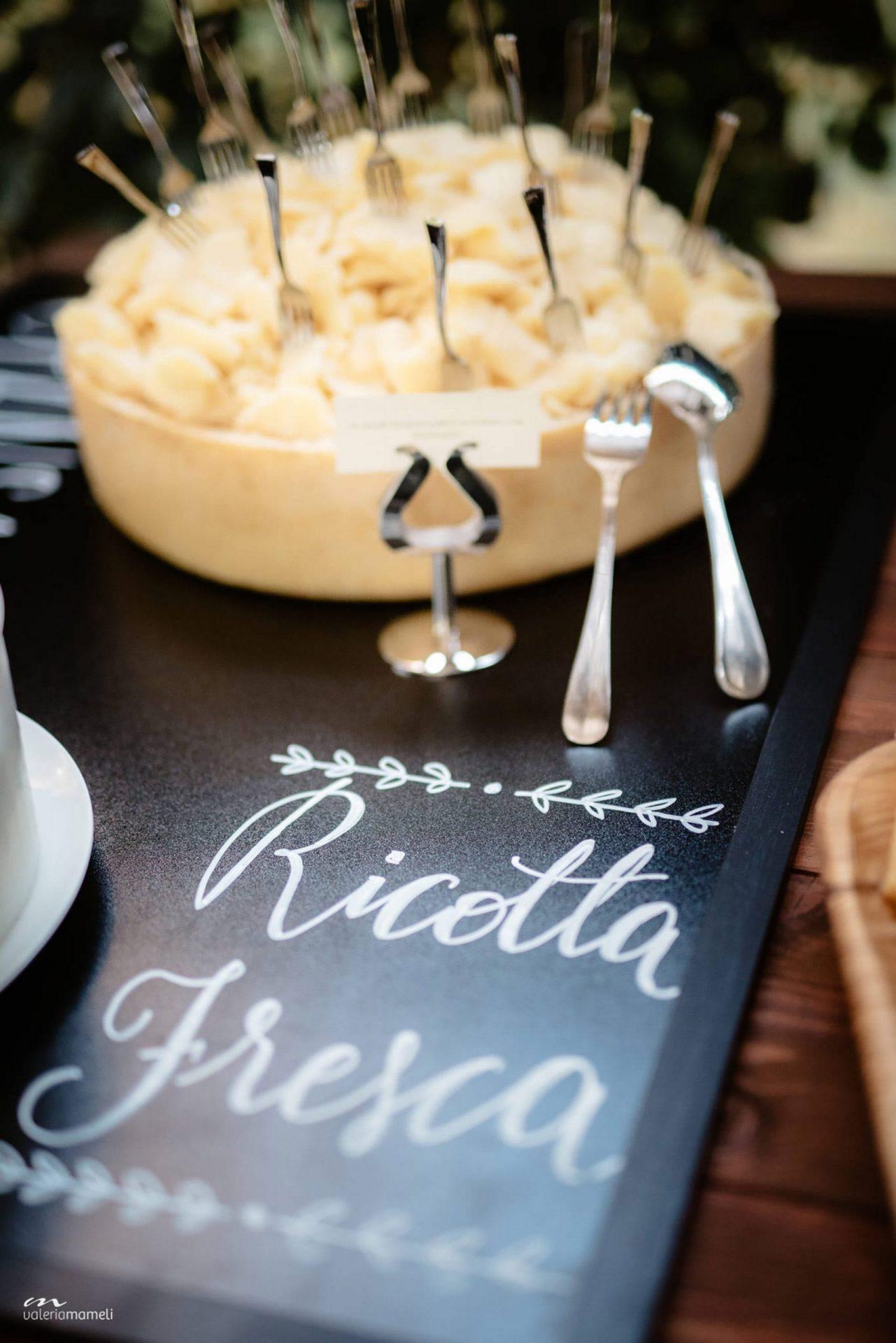 Francesca and Francesco, traditional Sardinia buffet