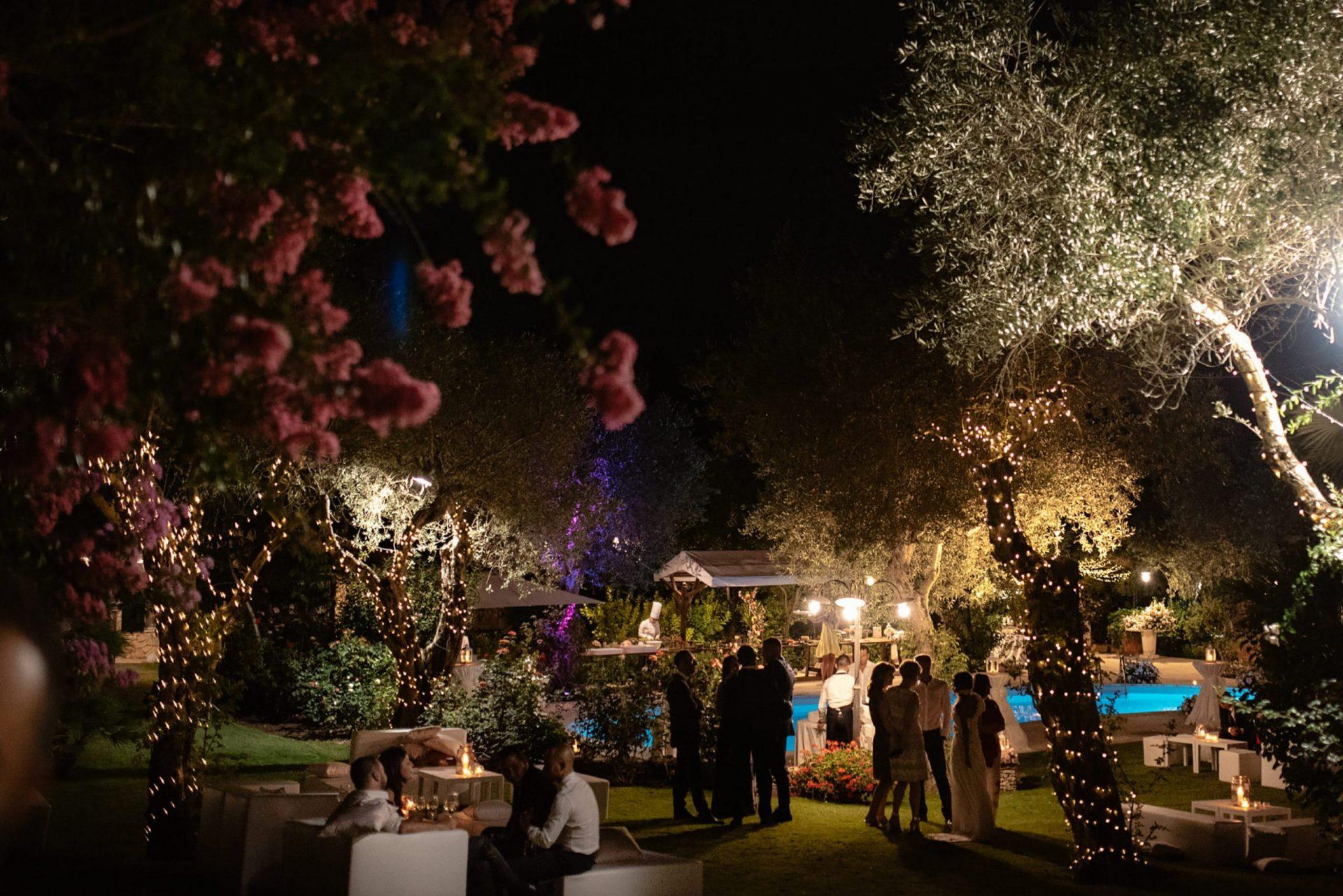Francesca and Francesco, secret garden lighting
